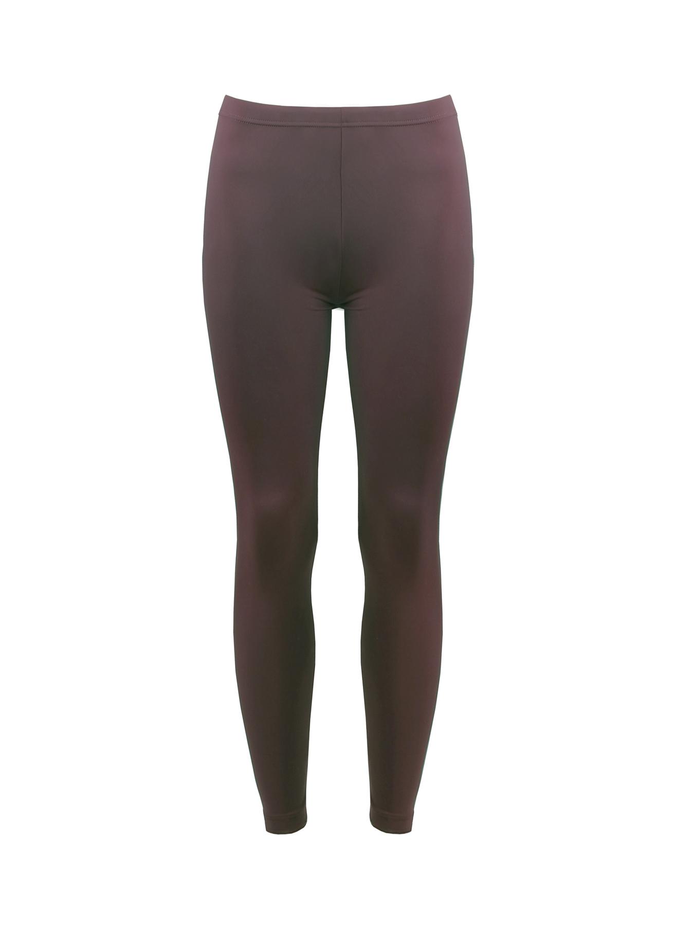 XL Kahve Magic Form Düz Tayt 5000007073001 Kadın Spor Giyim