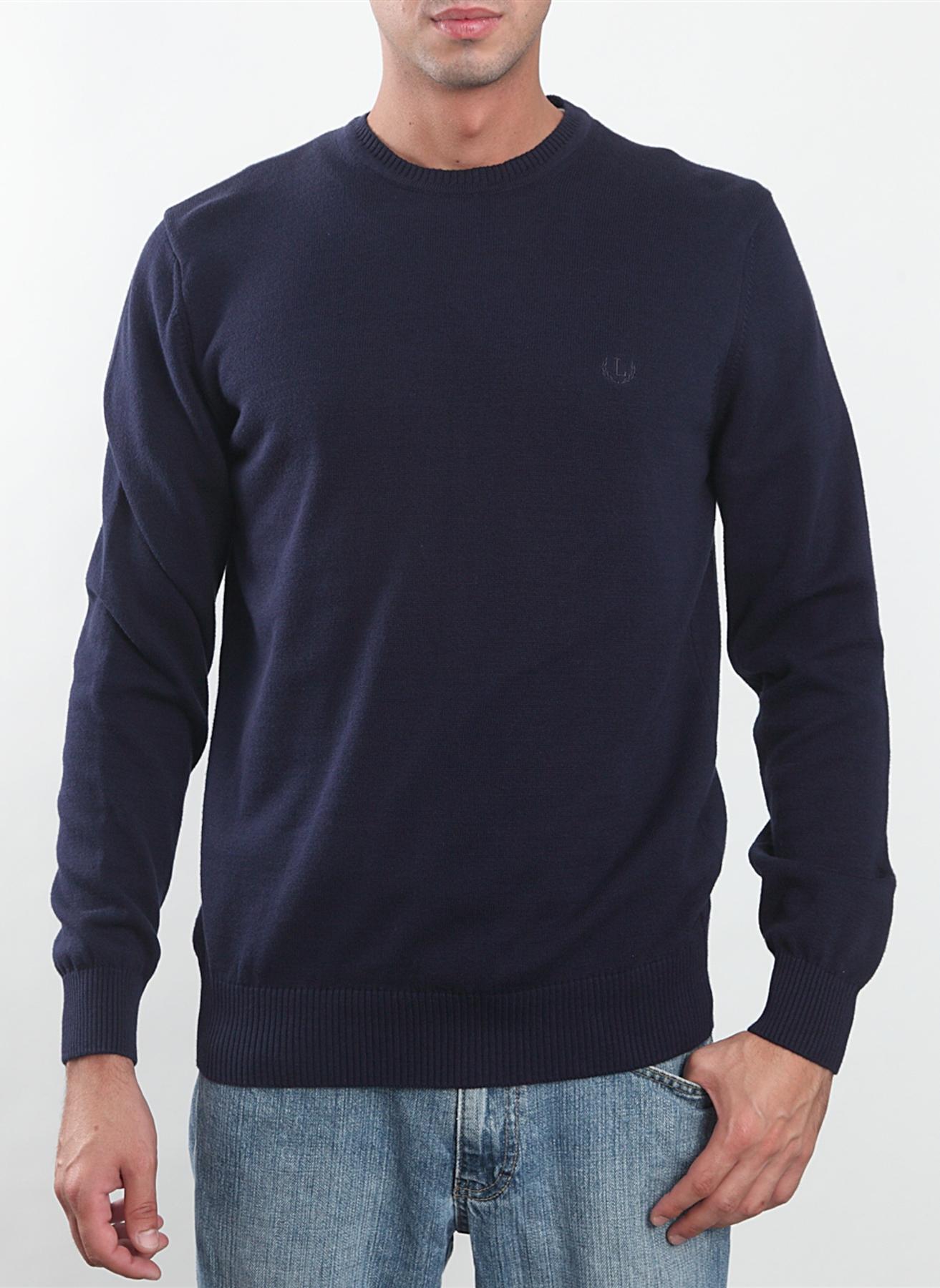 3XL Mavi Limon Kazak 5000013603006 Erkek Giyim & Hırka