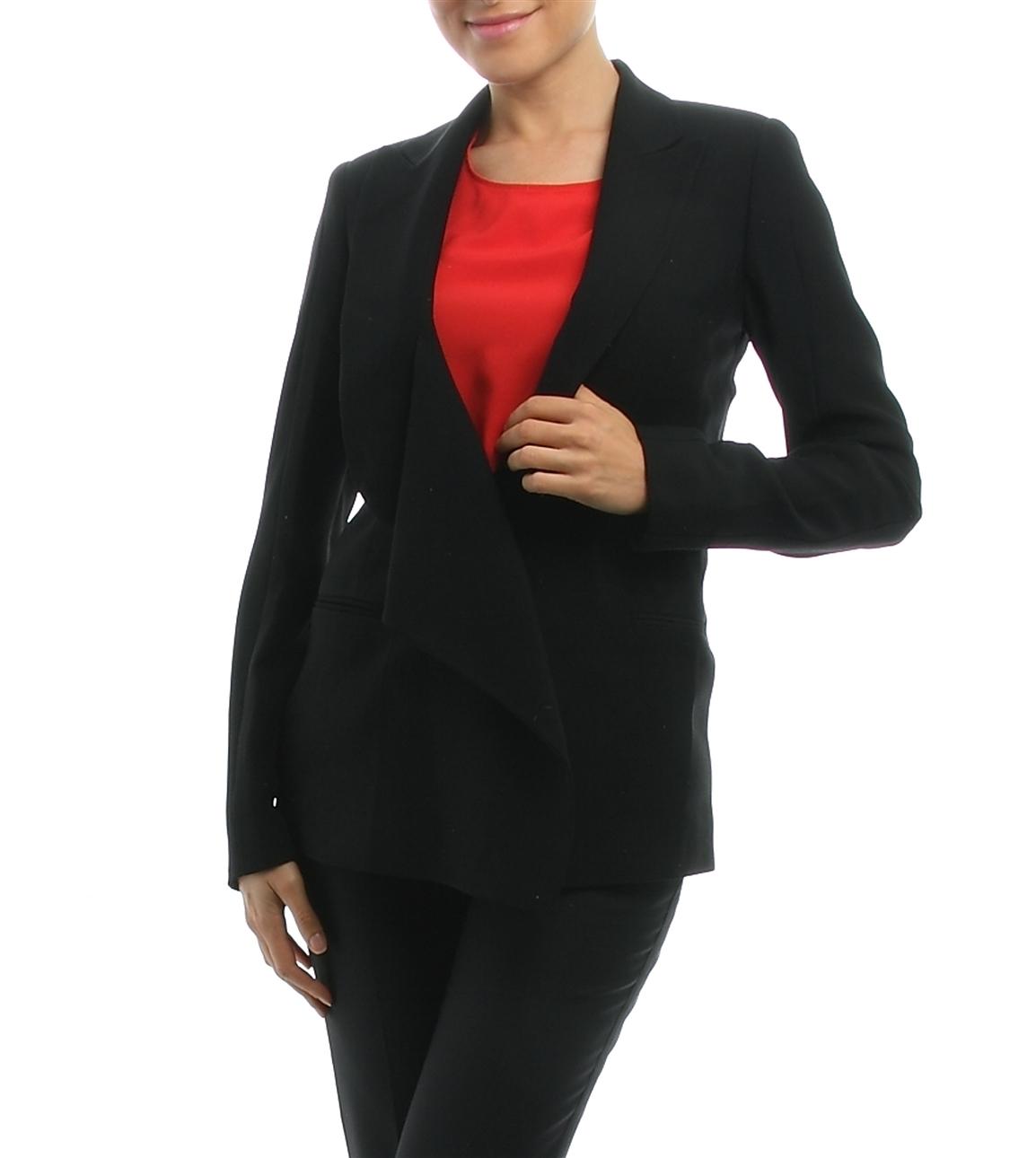 42 Siyah Beymen Studio Ceket 5000020850004 Kadın Giyim & Yelek