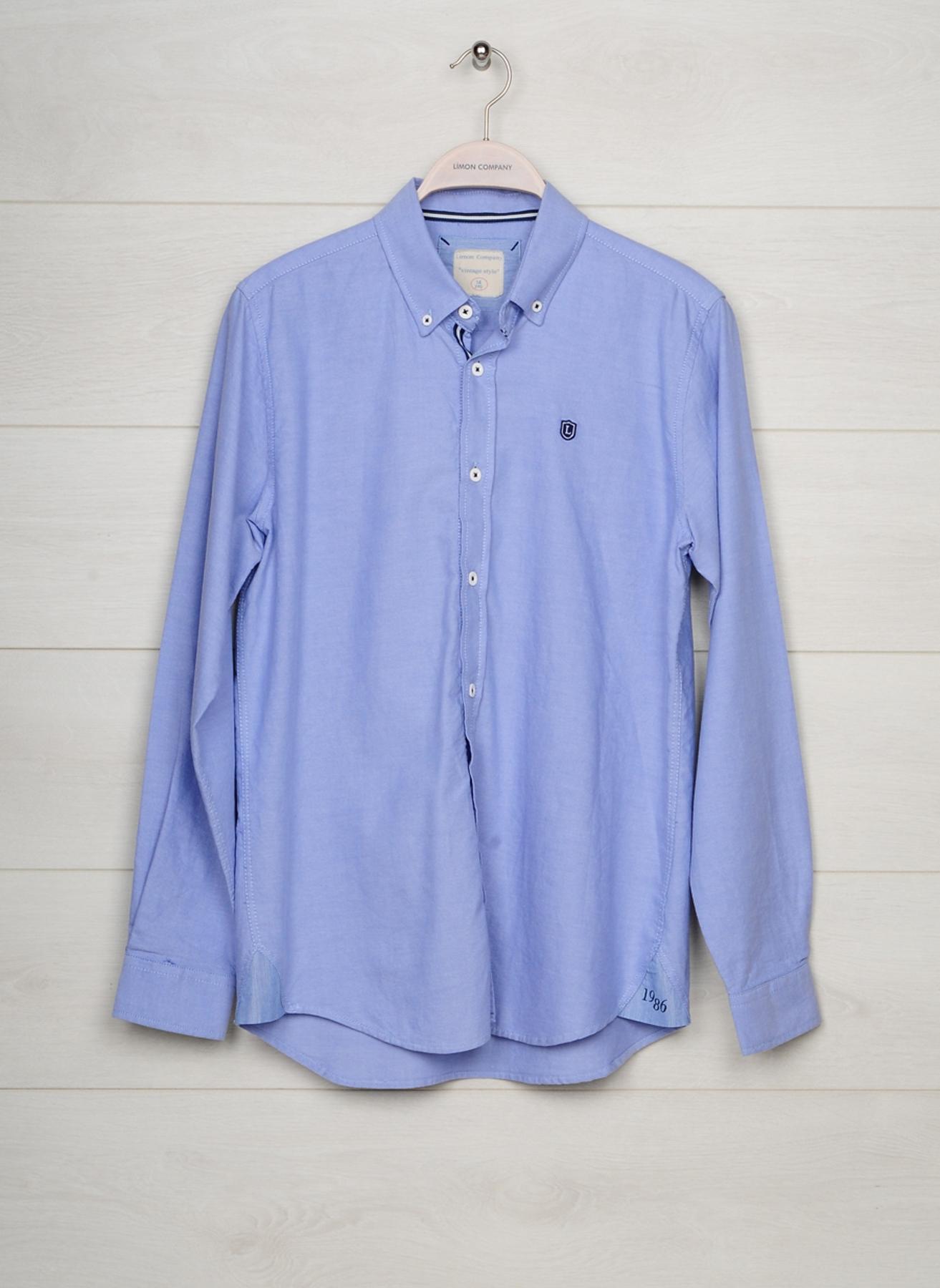 10 Yaş Erkek Mavi Limon Gömlek 5000021673003 Çocuk Giyim