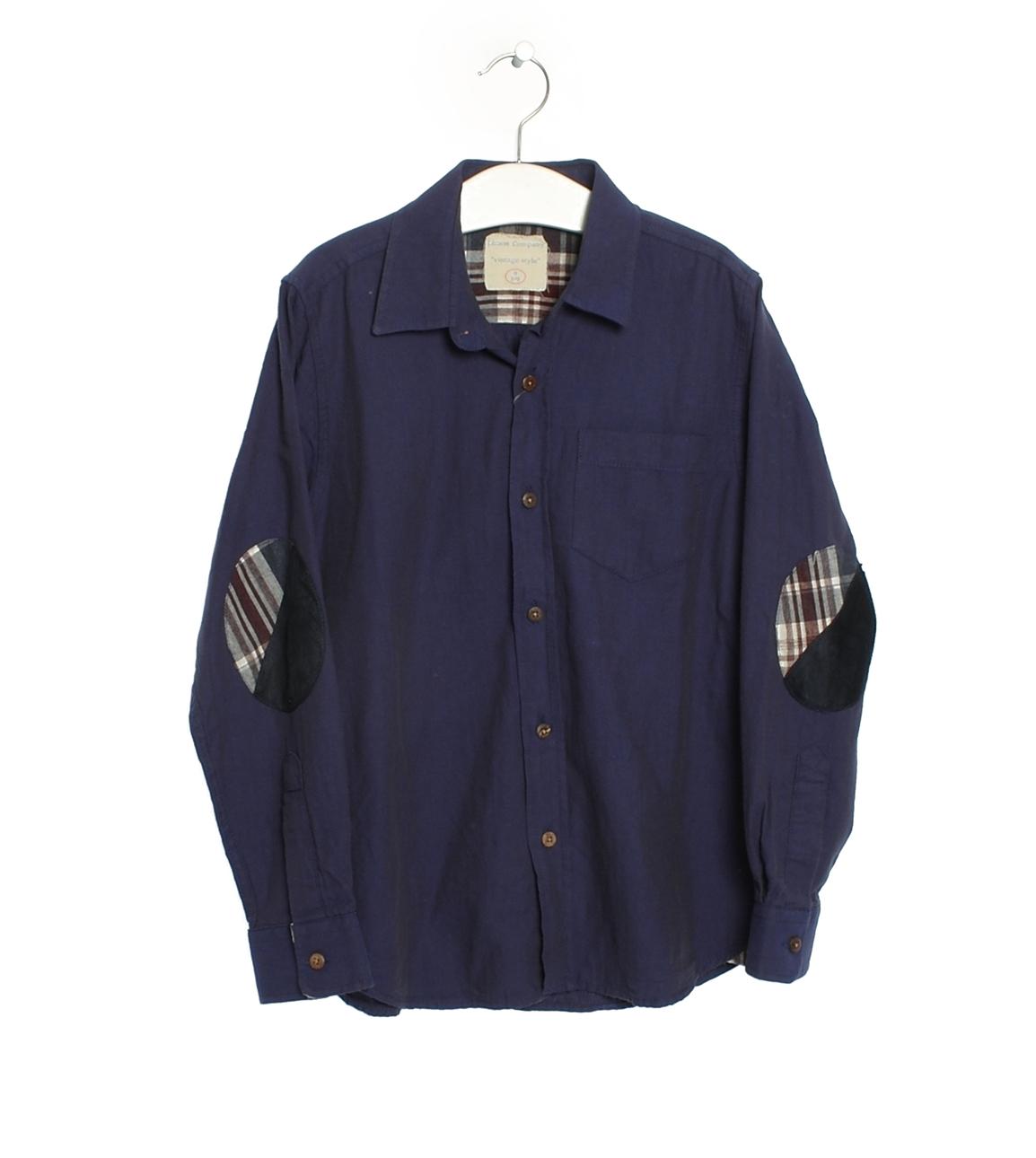 14 Yaş Erkek Koyu Lacivert Limon Gömlek 5000021674005 Çocuk Giyim