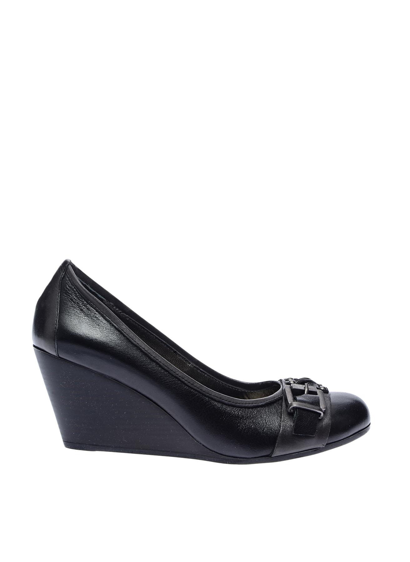 39 Siyah Prima Dolgu Tpklu Ayakkabi 5000026803001 Ayakkabı & Çanta Kadın Topuk