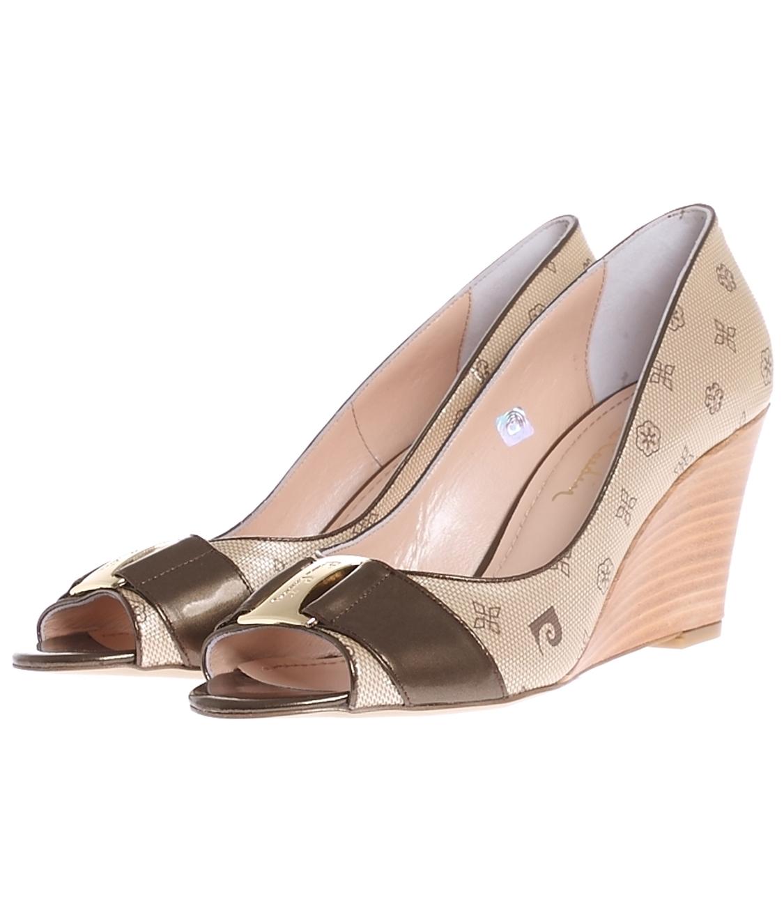 40 Dore Pierre Cardin Gold Dolgu Tpklu Ayakkabi 5000031066001 Ayakkabı & Çanta Kadın Topuk