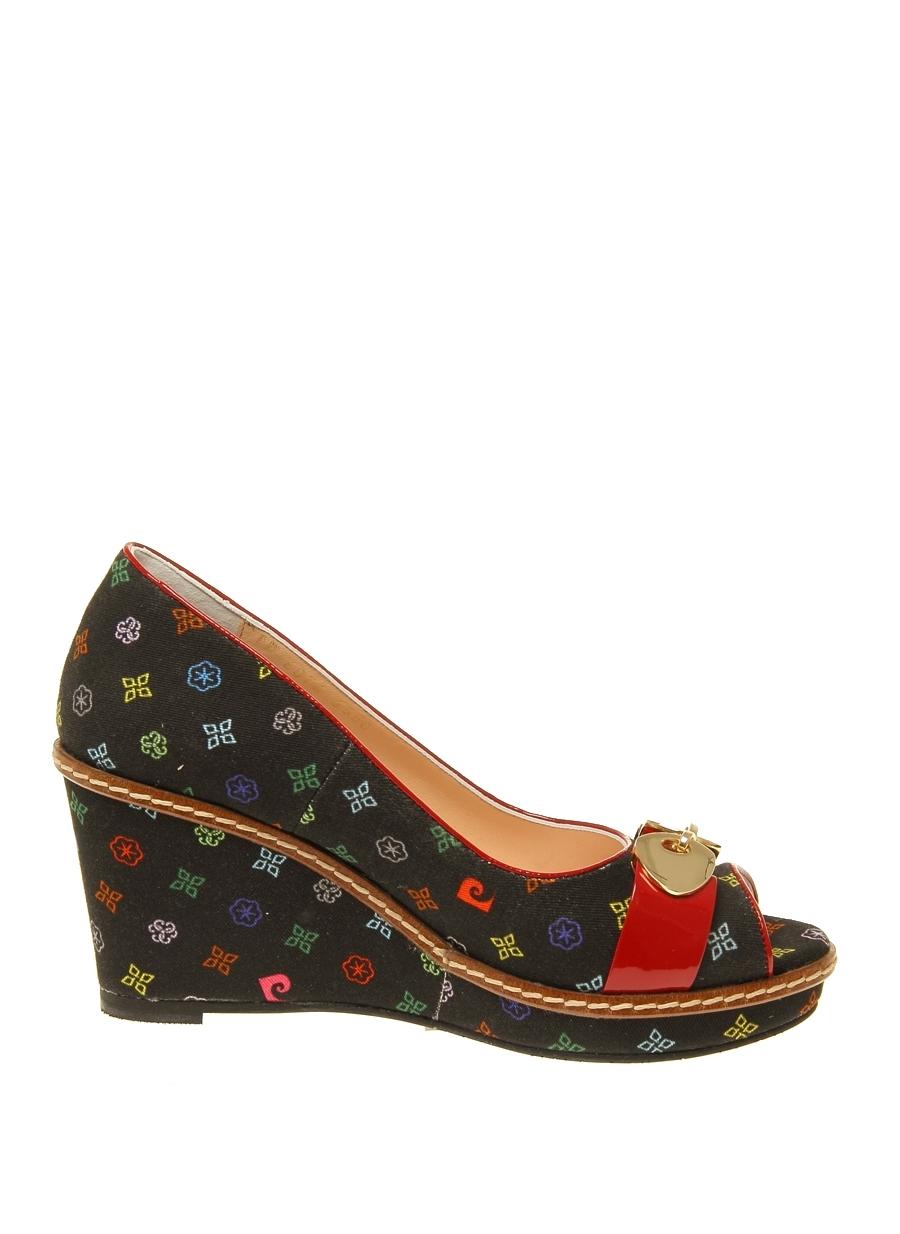 40 Siyah Pierre Cardin Dolgu Tpklu Ayakkabi 5000031067001 Ayakkabı & Çanta Kadın Topuk