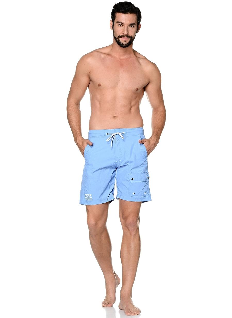 S Açık Mavi Jack & Jones Şort Mayo 5000038248003 Erkek Plaj Giyim