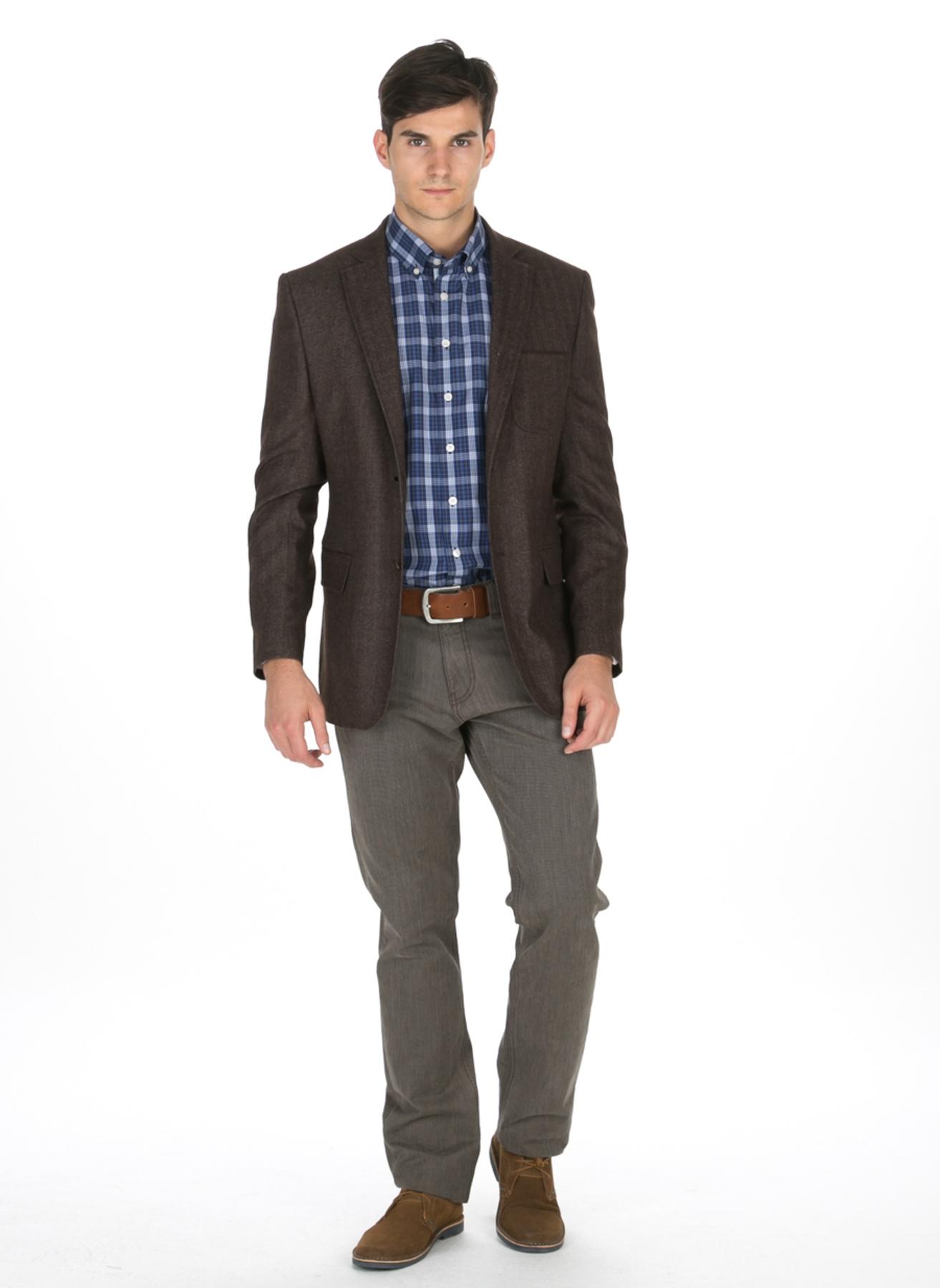 Antrasit Cotton Bar Ceket 48-6 5000038486001 Erkek Giyim & Yelek