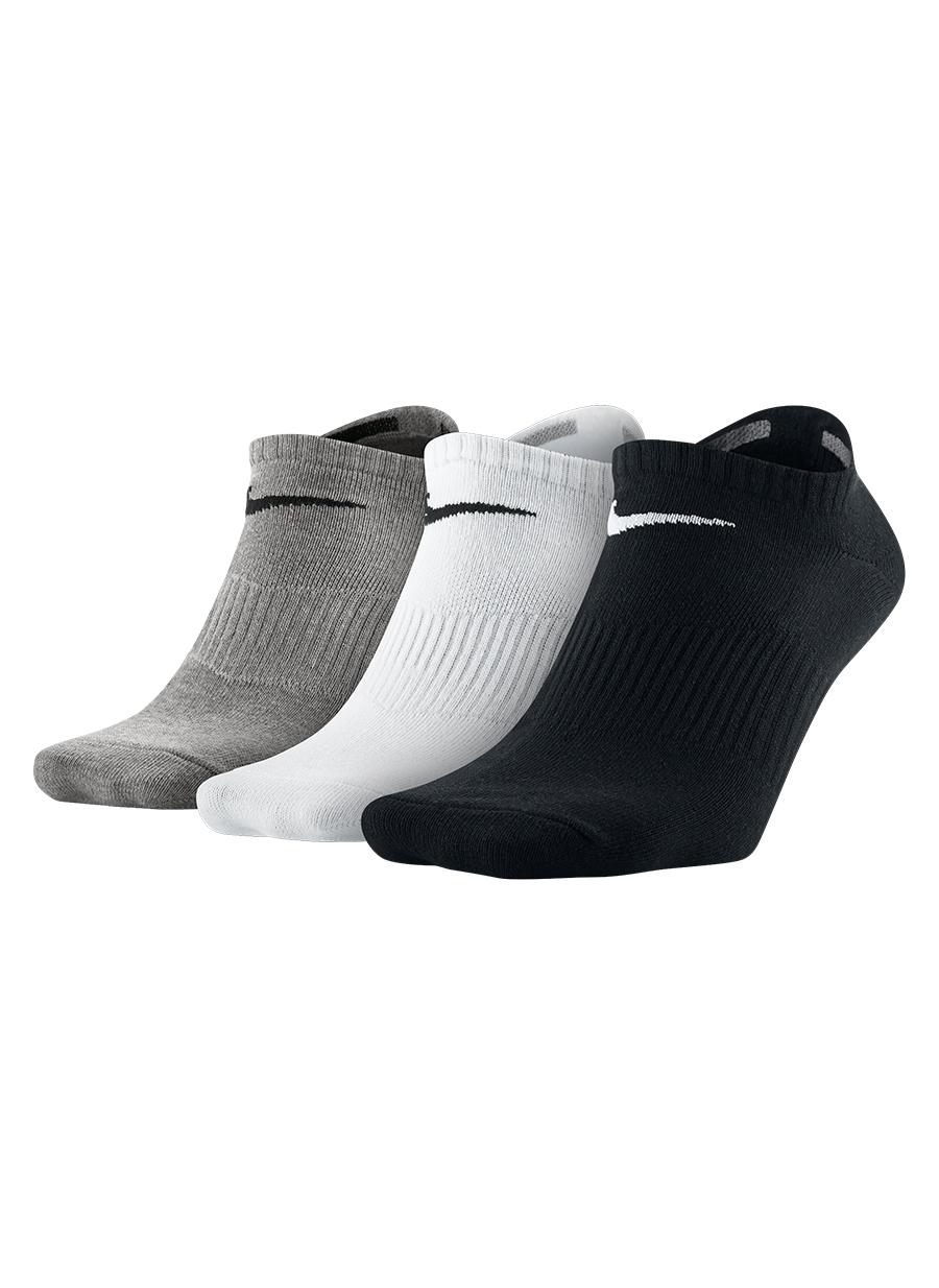 Erkek Açık Antrasit Nike 3'lü Spor Çorap 5000053717001 Aksesuarları
