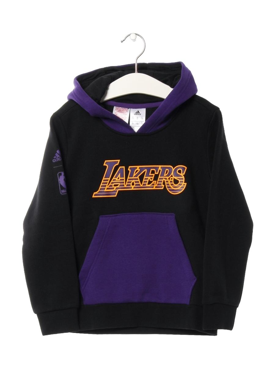 140 cm Erkek Siyah adidas Sweatshırt 5000062086004 Çocuk Giyim Sweatshirt