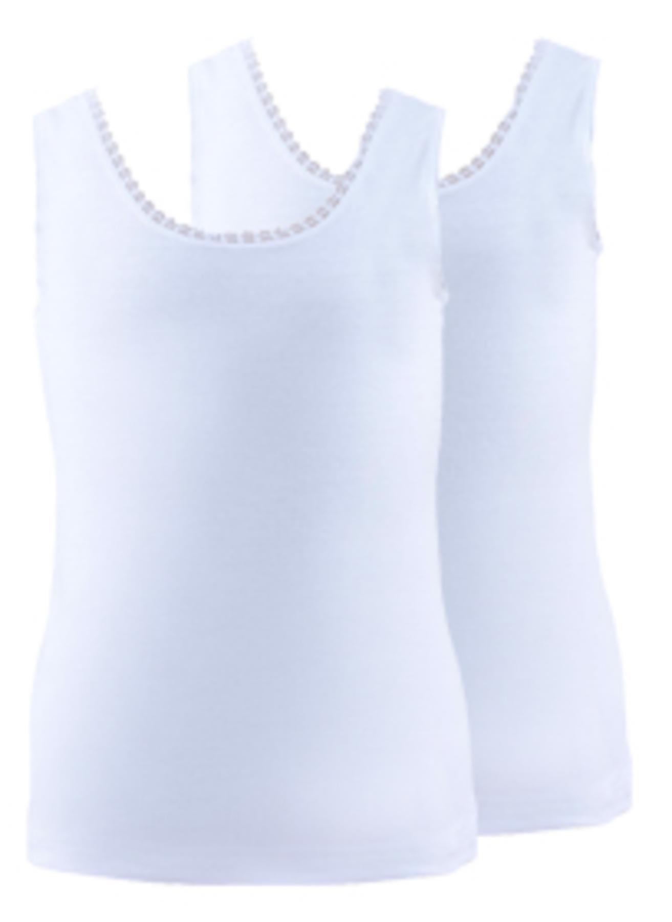 152 cm Kadın Beyaz Blackspade 2'li Kız Çocuk İç Giyim Atlet 5000071979001 Ev & &Fanila