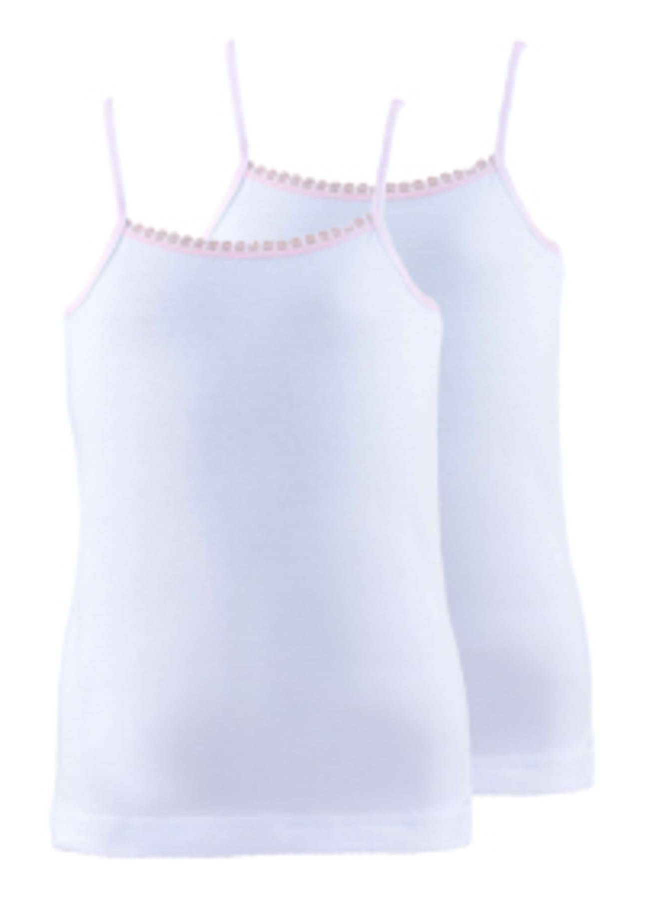 140 cm Kadın Beyaz Blackspade 2'li Kız Çocuk İç Giyim Atlet 5000071981002 Ev & &Fanila