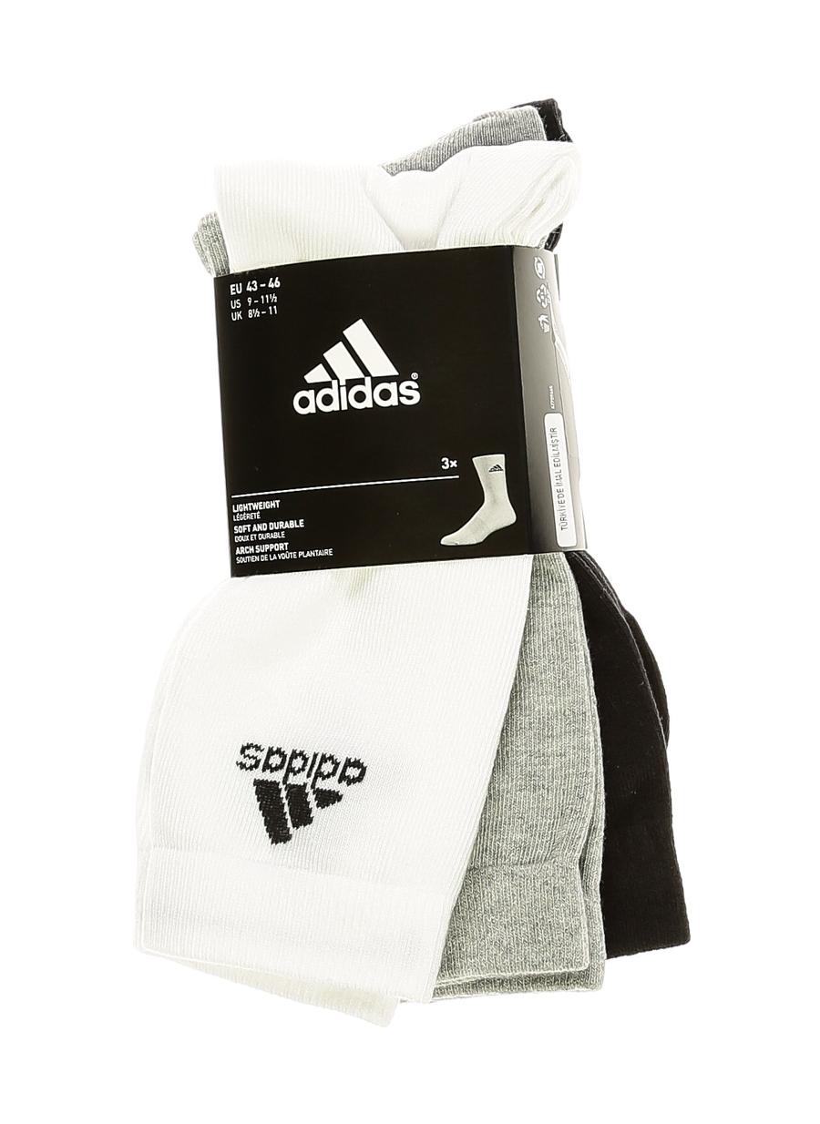 43-46 Erkek Siyah adidas Çorap 5000083091001 Spor Aksesuarları