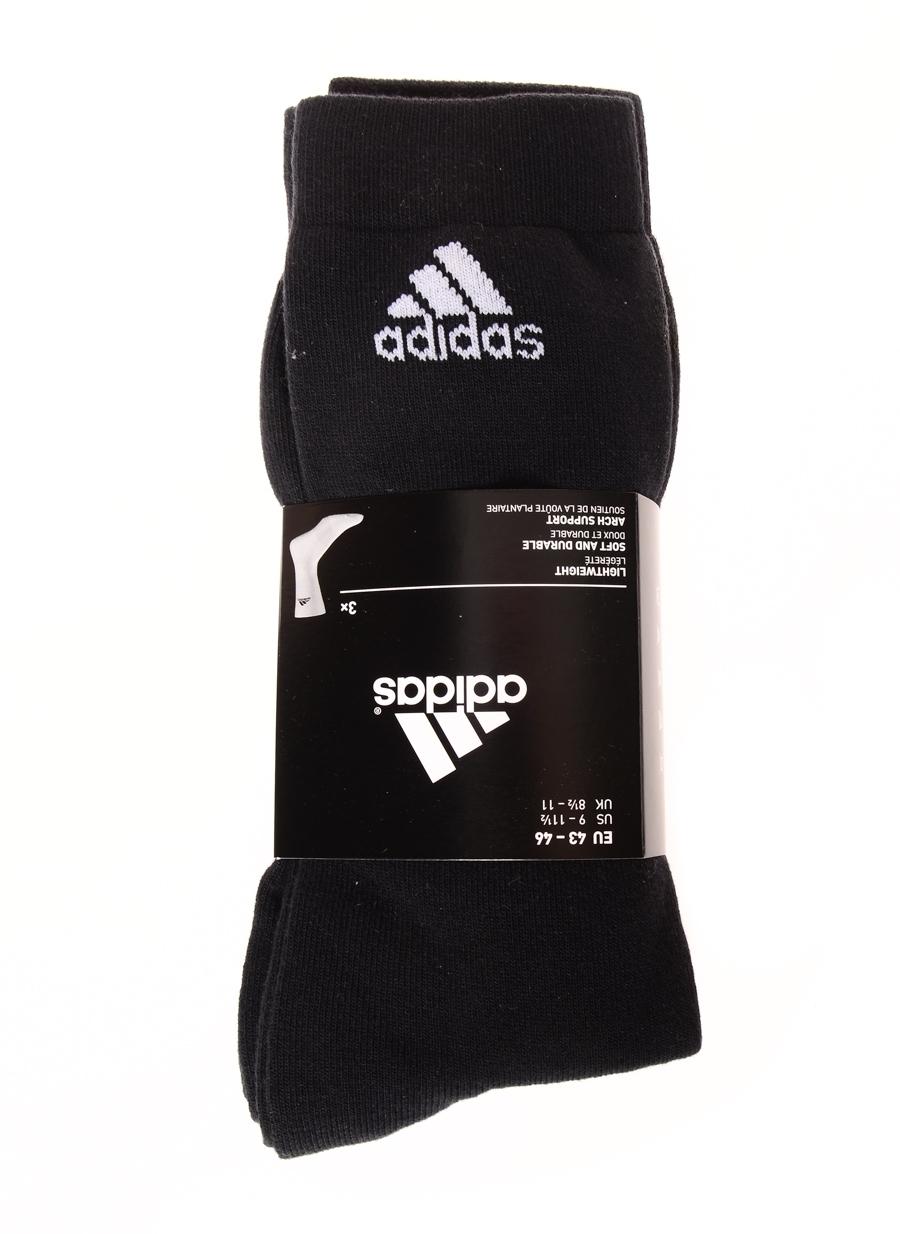 43-46 Erkek Siyah adidas Çorap 5000083092001 Spor Aksesuarları