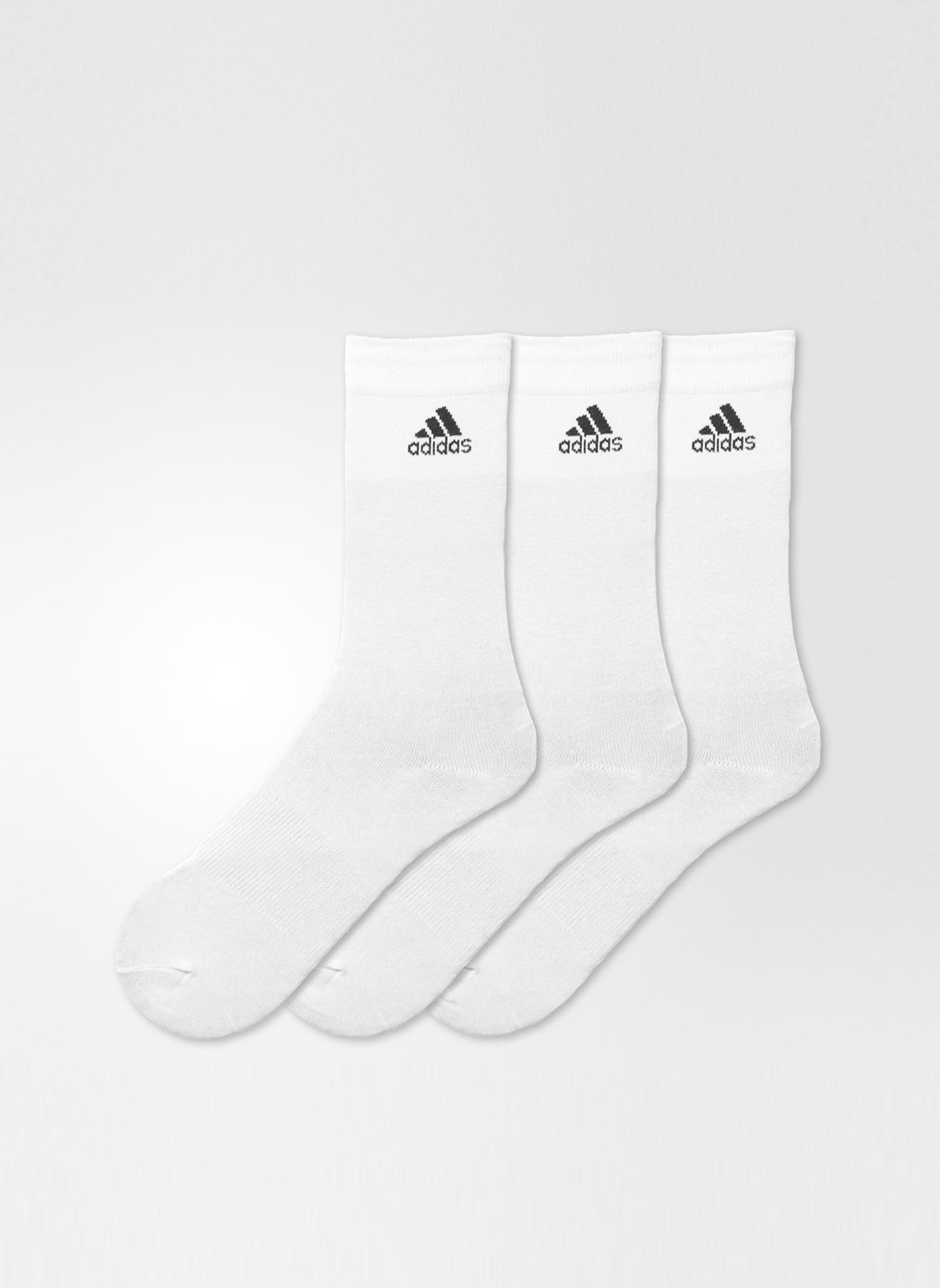 43-46 Erkek Beyaz adidas Çorap 5000083093001 Spor Aksesuarları