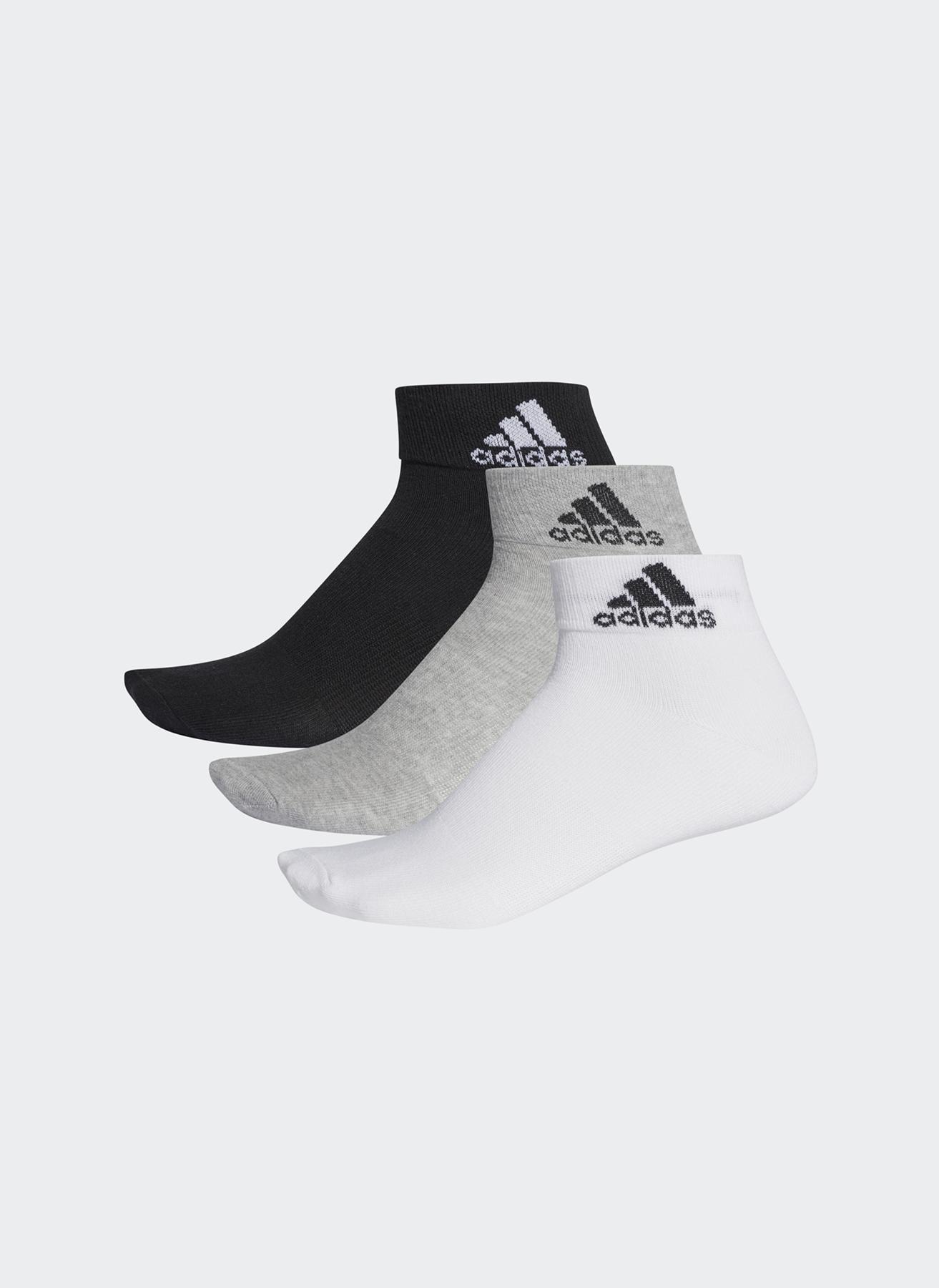 43-46 Erkek Siyah adidas Çorap 5000083094001 Spor Aksesuarları