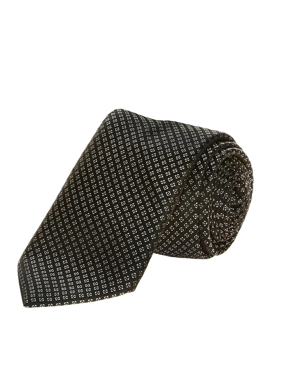 Siyah George Hogg Kravat 5000092251001 Erkek Aksesuar & Kol Düğmesi