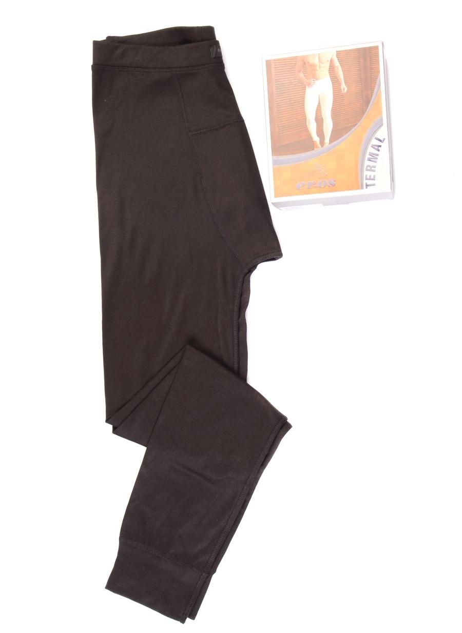 S Siyah Er_Os Beyaz Klasik Pantolon 5000092646004 Erkek İç Giyim Pijama