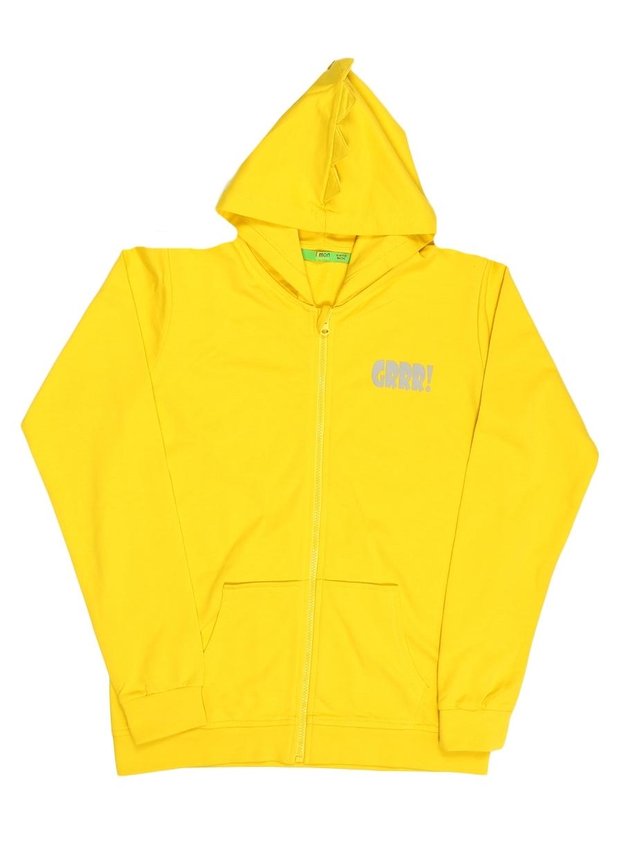 5 Yaş Erkek Sarı Limon Sweatmont 5000093320003 Çocuk Giyim Sweatshirt