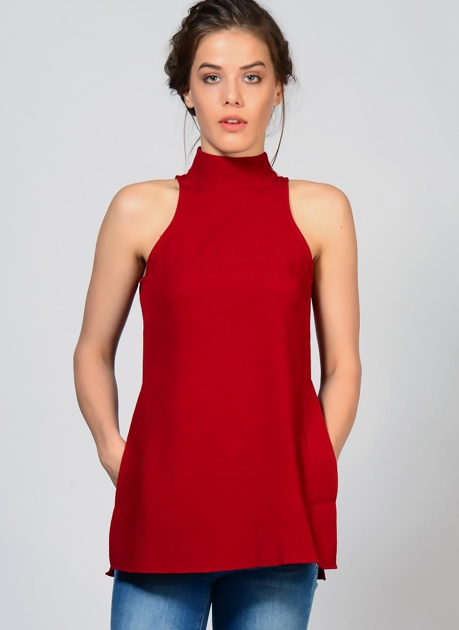 Kırmızı Fashion Union Tunik 38 5000097069004 Kadın Giyim Gömlek & Bluz