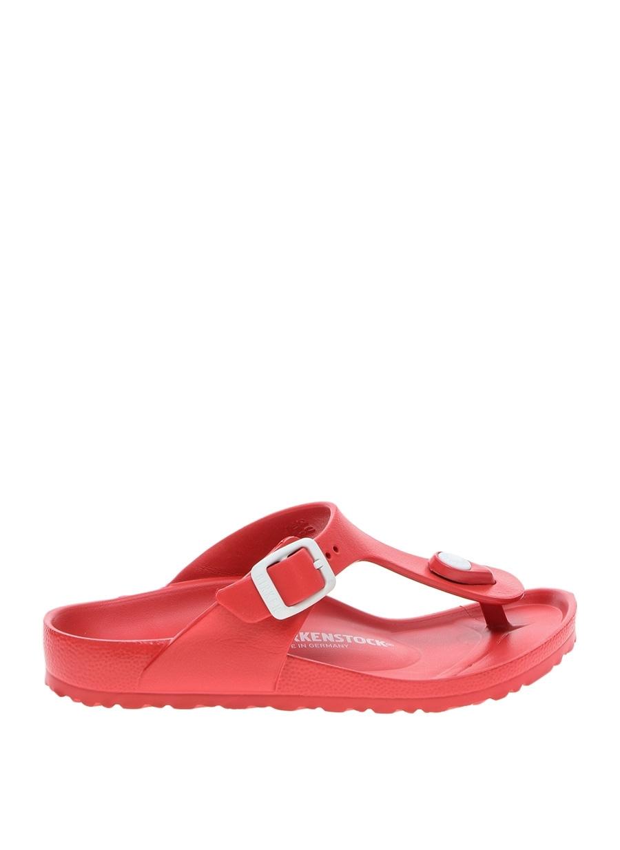 30 Erkek Kırmızı Birkenstock Çocuk Plaj Terliği 5000101072001 Ayakkabı & Çanta Ayakkabıları Terlik Sandaletler