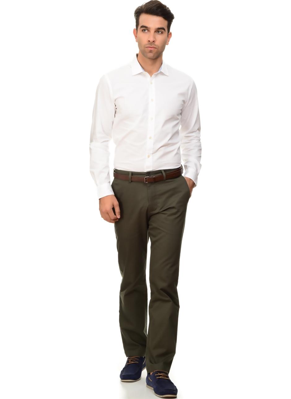 Dockers Standard Clean Khaki Slim - Stretch Twill Klasik Pantolon 33-34 5000127213006 Ürün Resmi