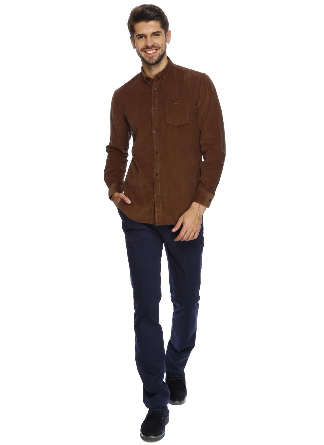 Cotton Bar Lacivert Klasik Pantolon 46 5000158020001 Ürün Resmi