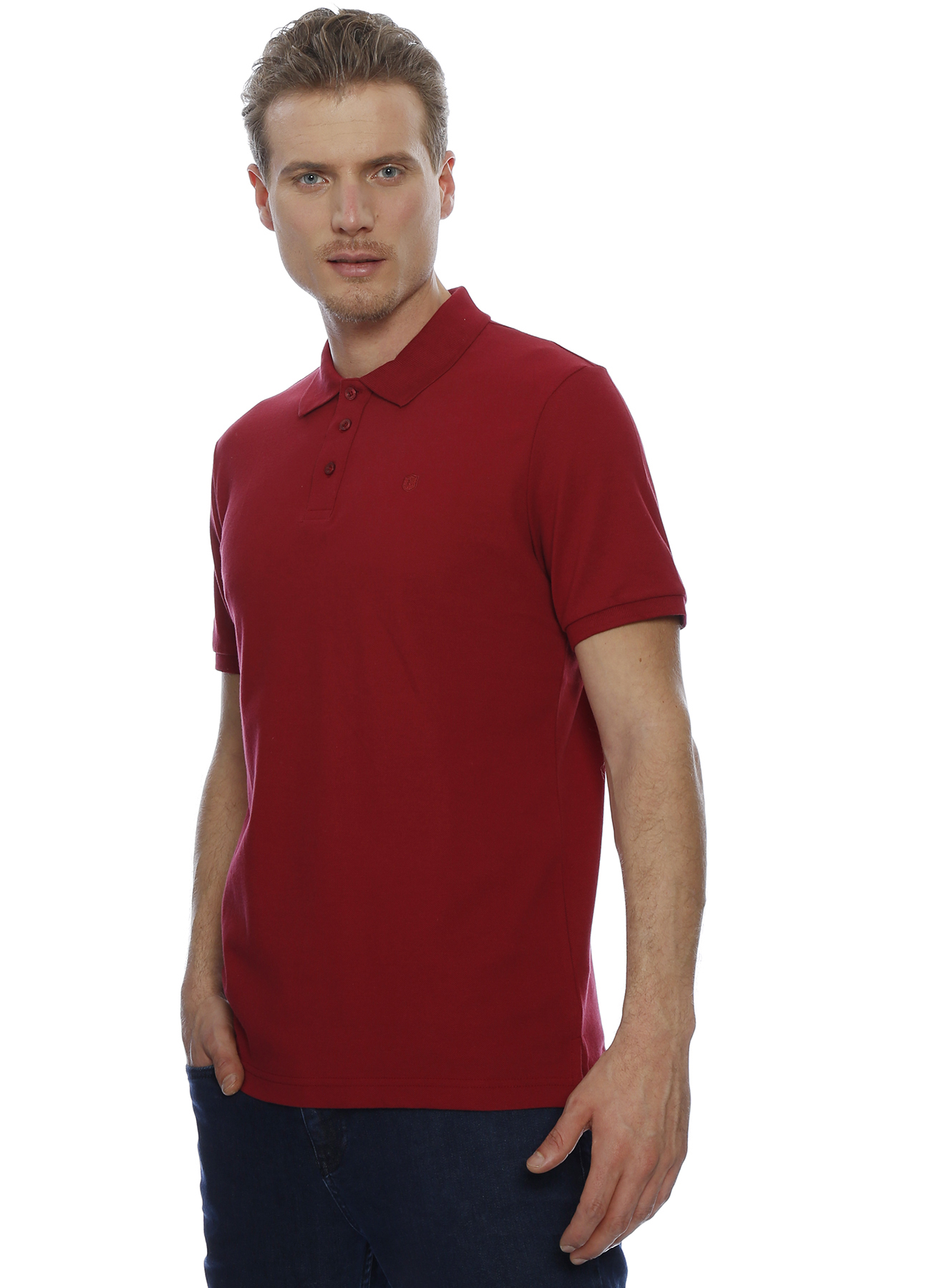 Limon Polo Yaka Kırmızı T-Shirt 2XL 5000186926005 Ürün Resmi