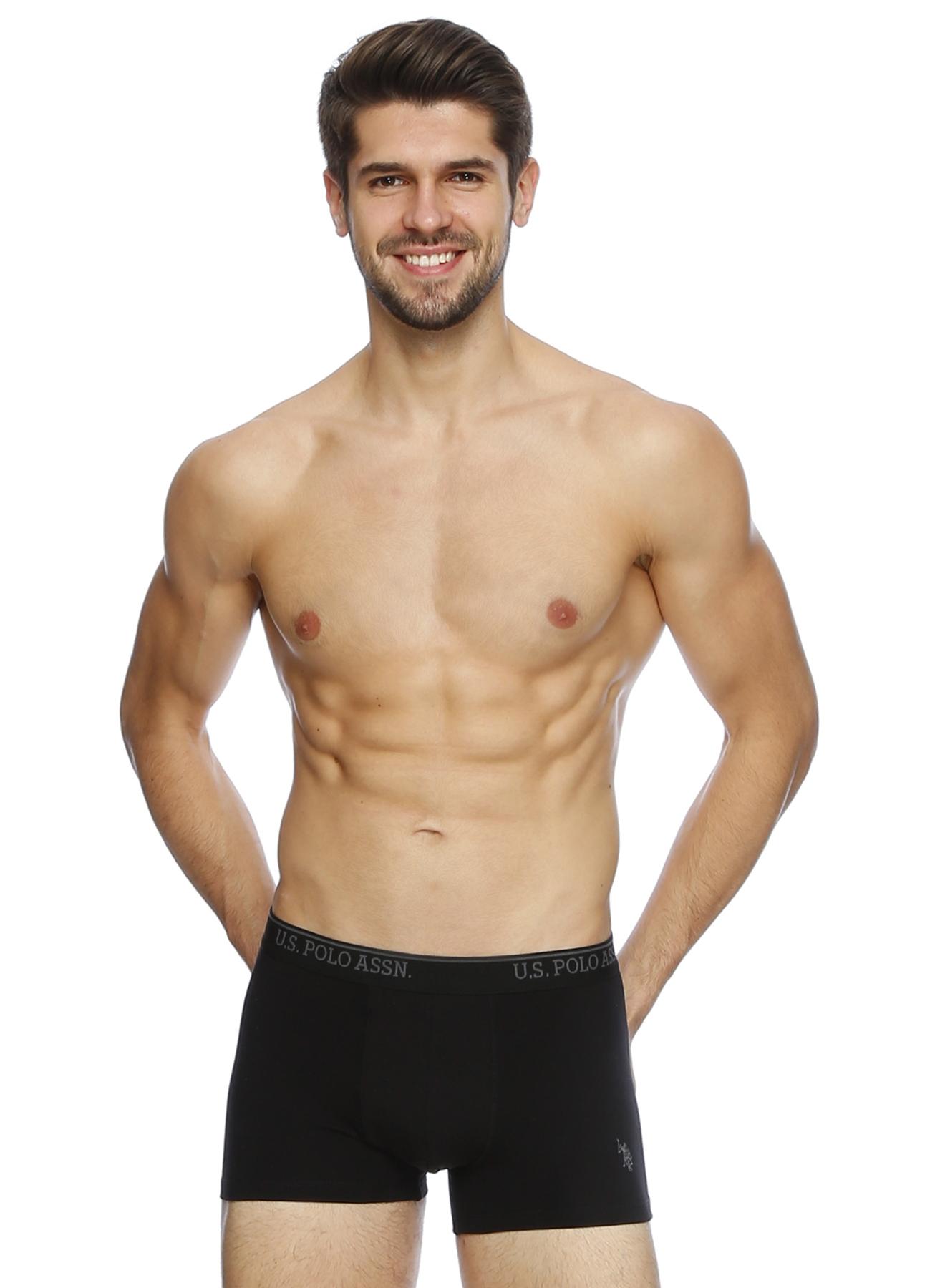U.S. Polo Assn. Siyah Boxer M 5000189687002 Ürün Resmi