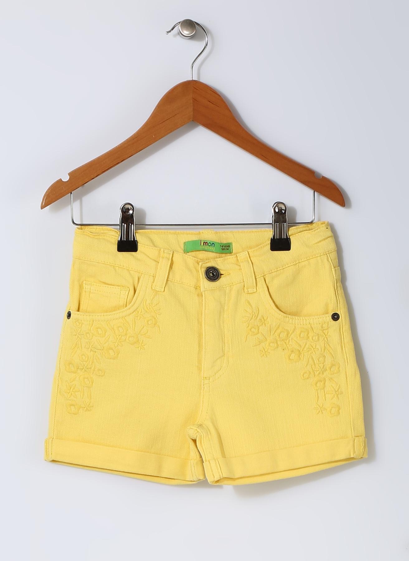 Limon Sarı Şort 4 Yaş 5000190543002
