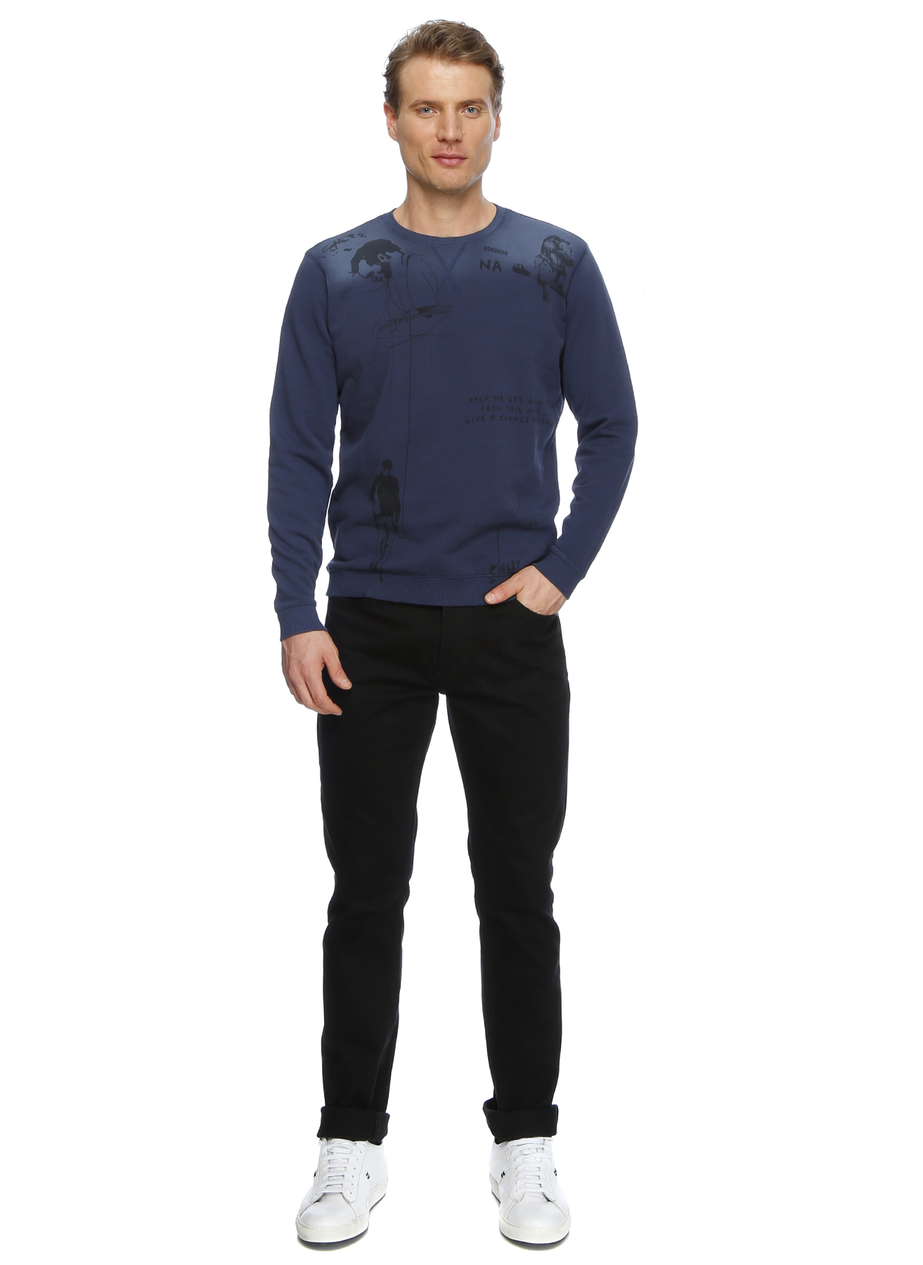 Loft Siyah Klasik Pantolon 34-34 5000192127013 Ürün Resmi