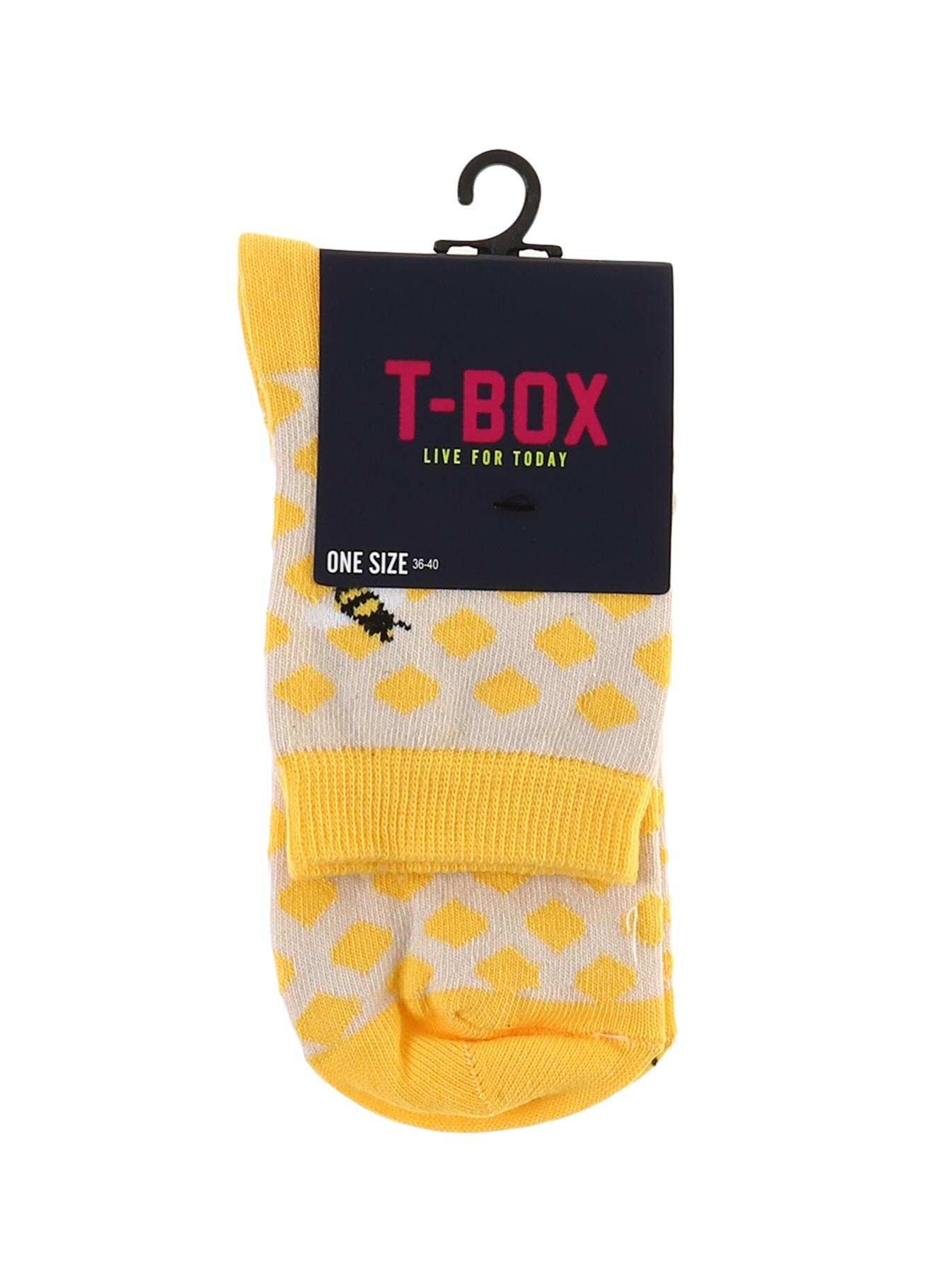 T-Box Arı Desenli Soket Çorap 5000194552001 Ürün Resmi