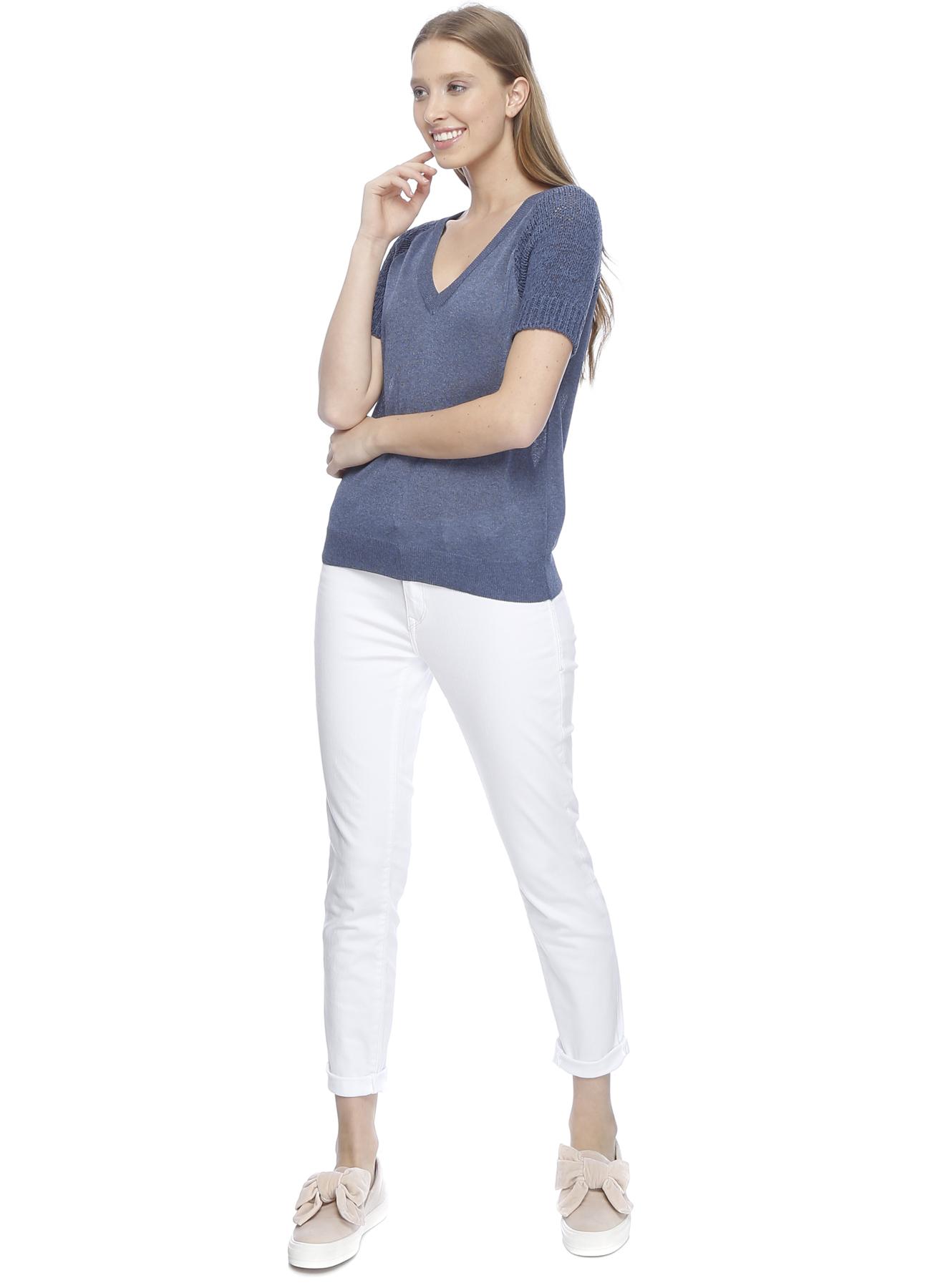 Mavi Adriana Ankle Beyaz Denim Pantolon 25-32 5000195502003 Ürün Resmi