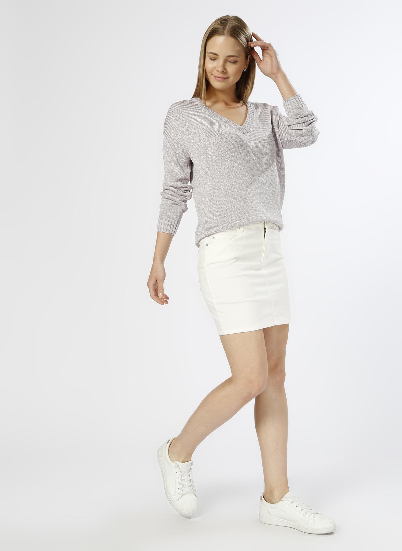 Vero Moda Beyaz Etek M 5000196034002 Ürün Resmi