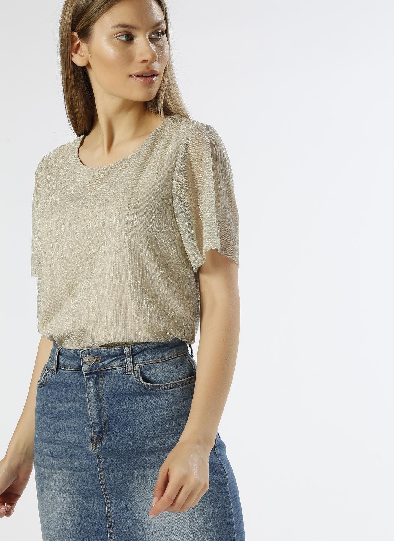 Vero Moda Gold İşlemeli T-Shirt M 5000196112002 Ürün Resmi