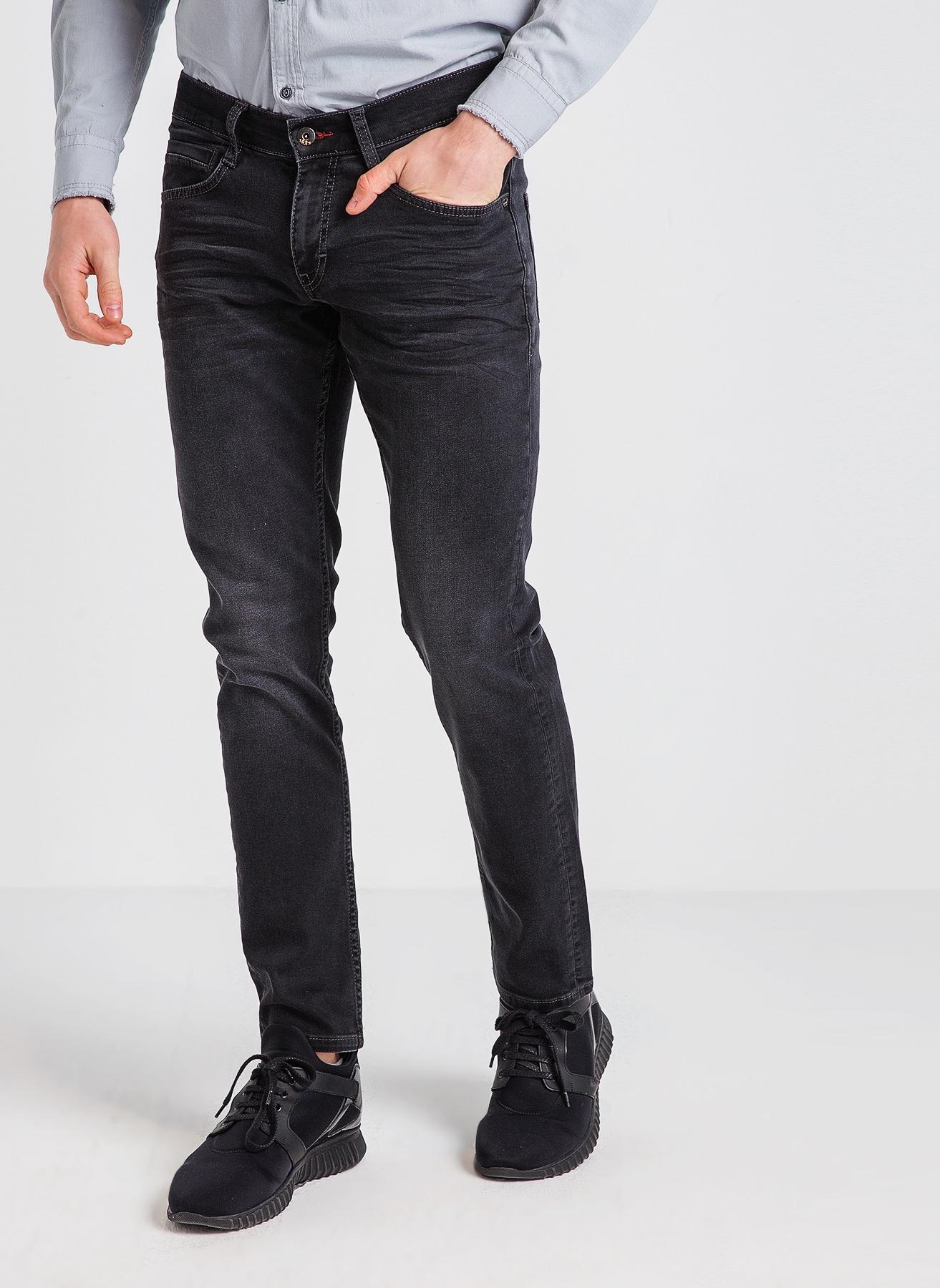 Mustang Slim Rise Siyah Klasik Pantolon 31-30 5000200009003 Ürün Resmi