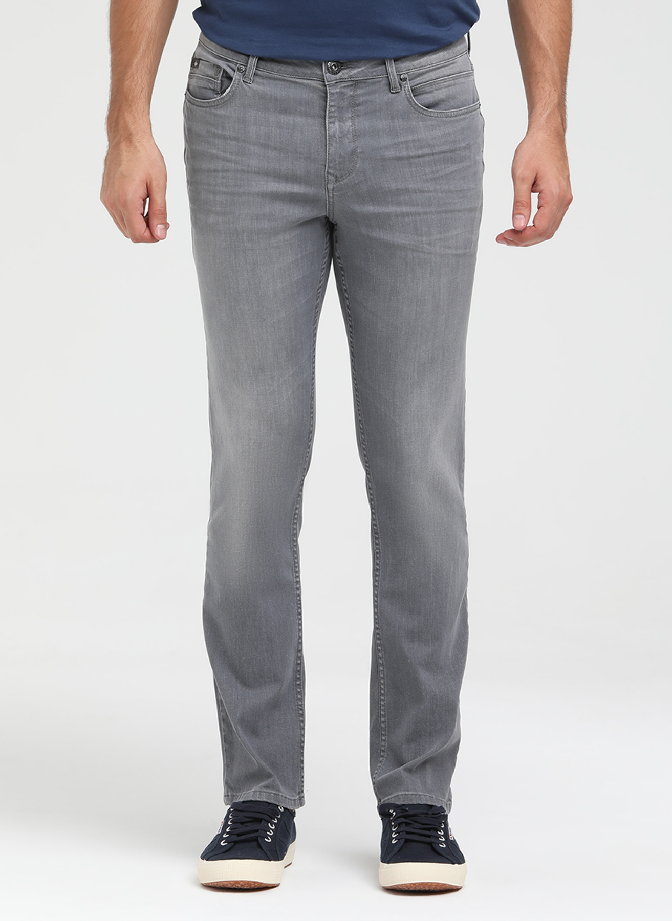 Lee Cooper Gri Klasik Pantolon 34-32 5000200284017 Ürün Resmi