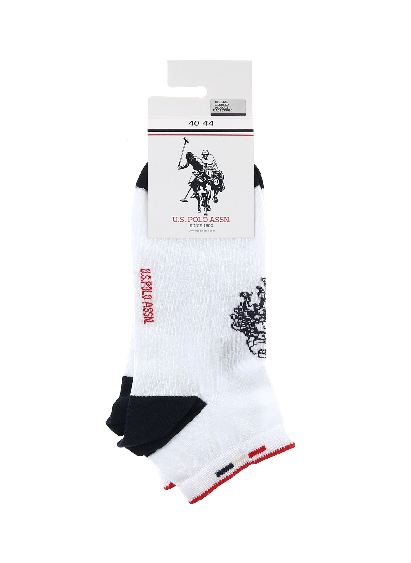 U.S. Polo Assn. Beyaz Çorap 5000201414001 Ürün Resmi
