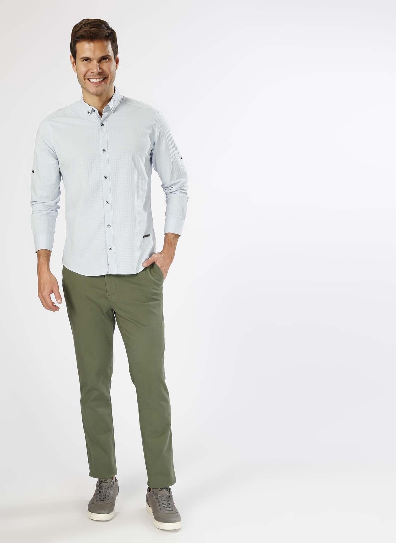 Loft Casual Yeşil Klasik Pantolon 33-32 5000201923010 Ürün Resmi