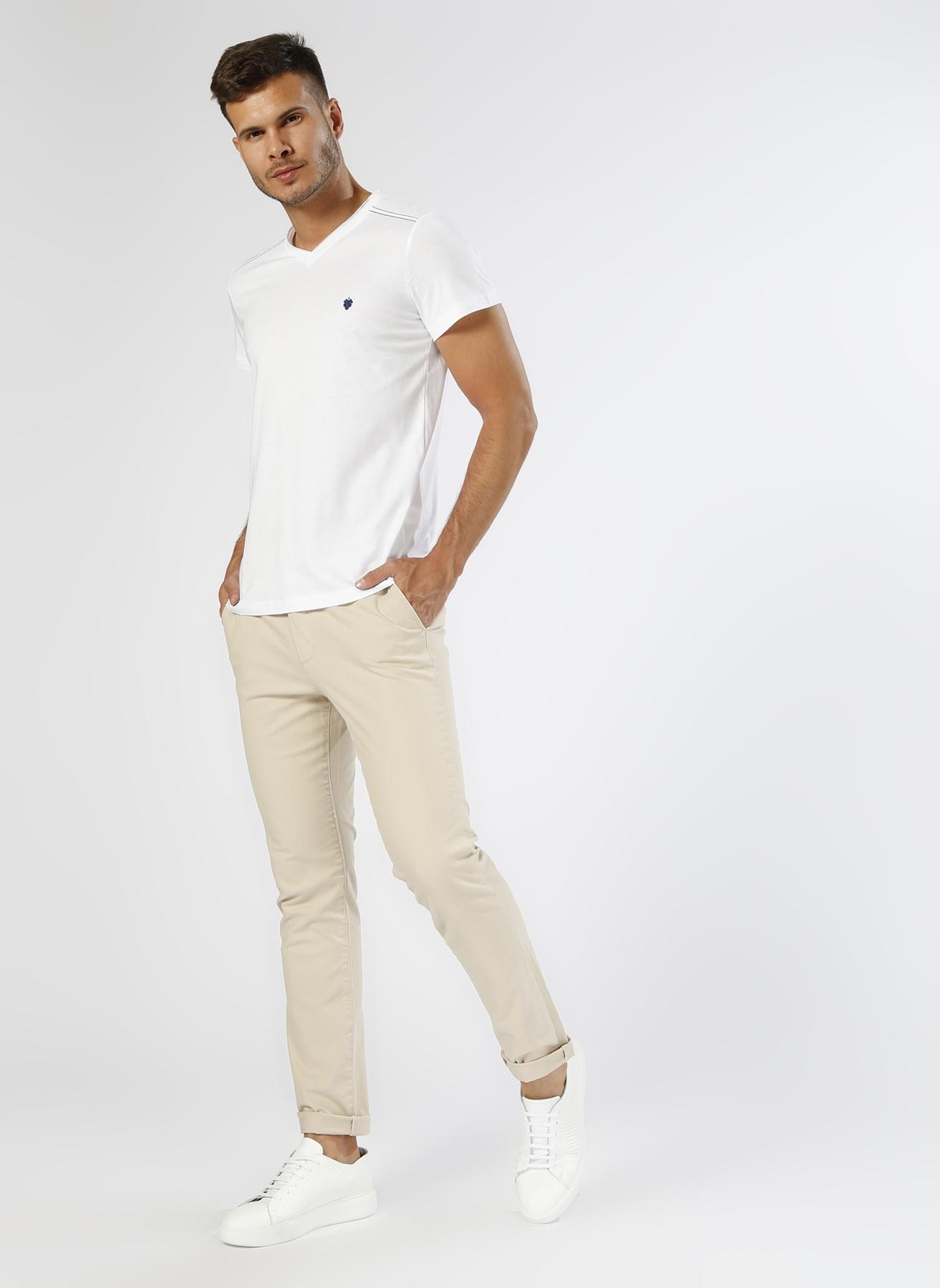 Loft Casual Bej Klasik Pantolon 31-32 5000201925005 Ürün Resmi