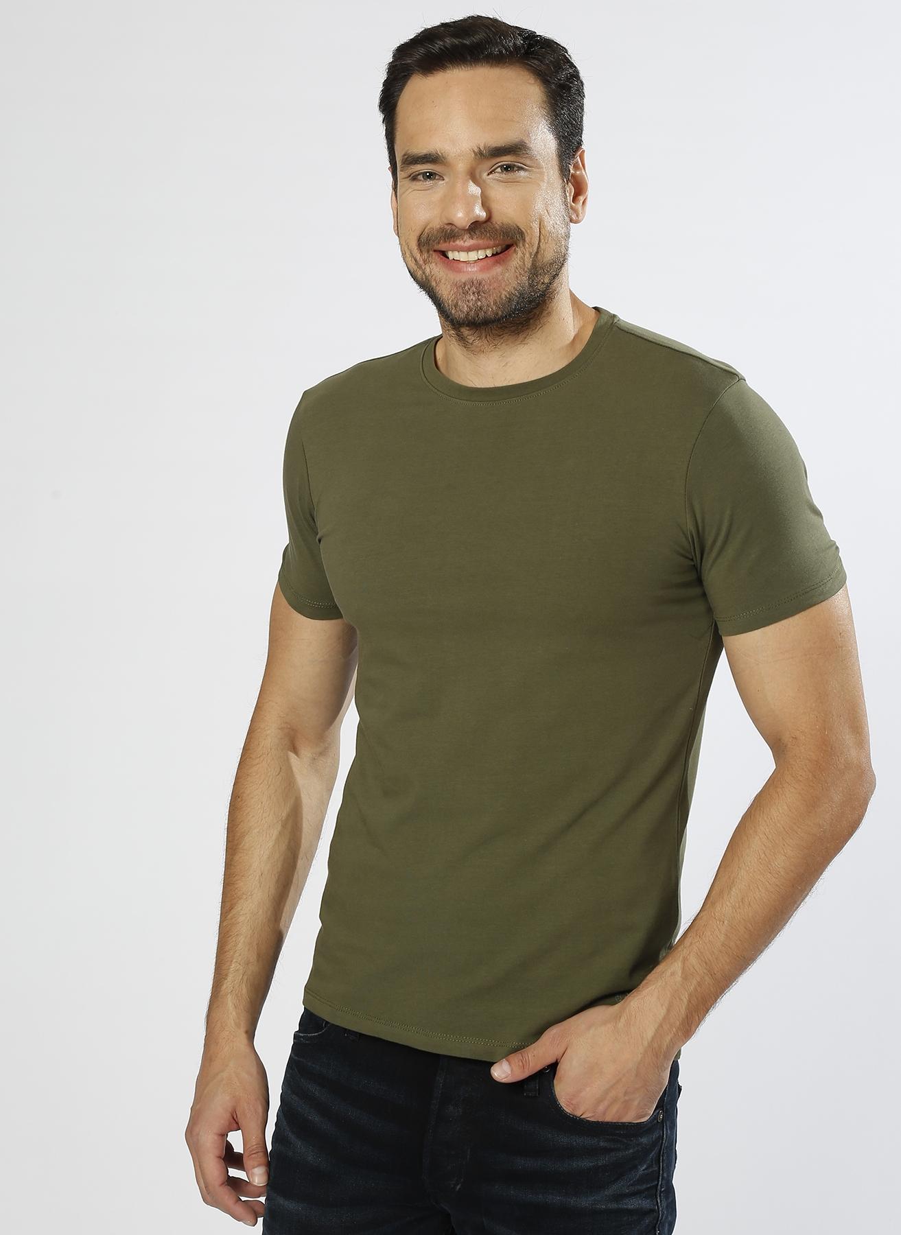 Loft Basic Haki T-Shirt XL 5000201956004 Ürün Resmi