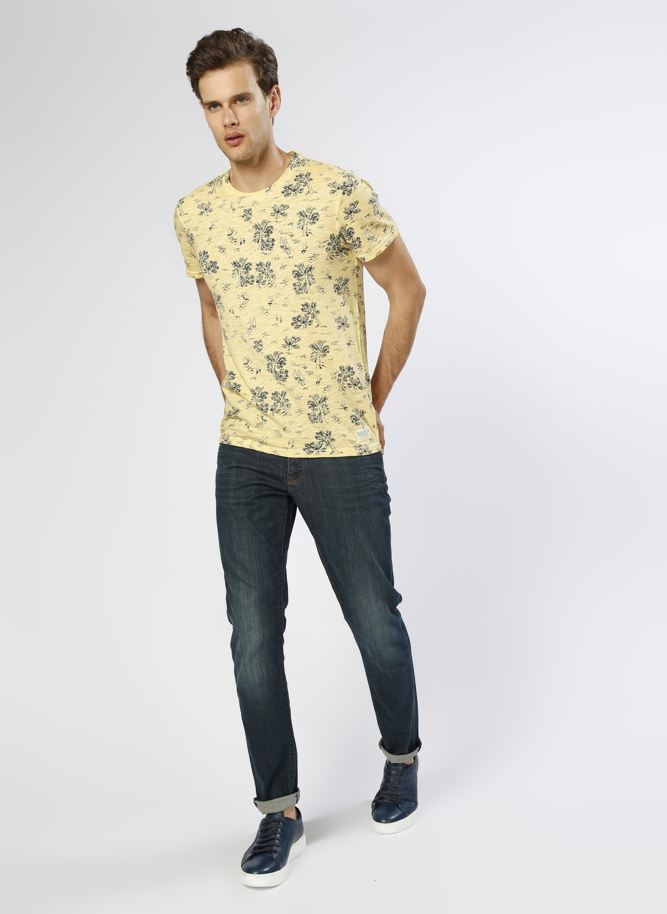 Loft Koyu İndigo Klasik Pantolon 34-32 5000201986013 Ürün Resmi
