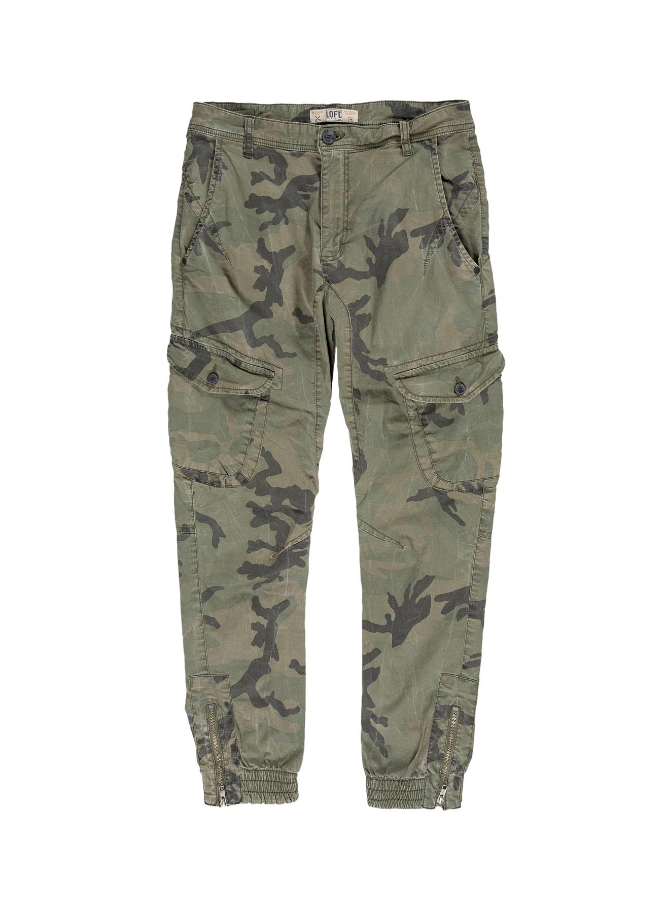 Loft Kamuflaj Desenli Yeşil Klasik Pantolon 29-28 5000202082002 Ürün Resmi