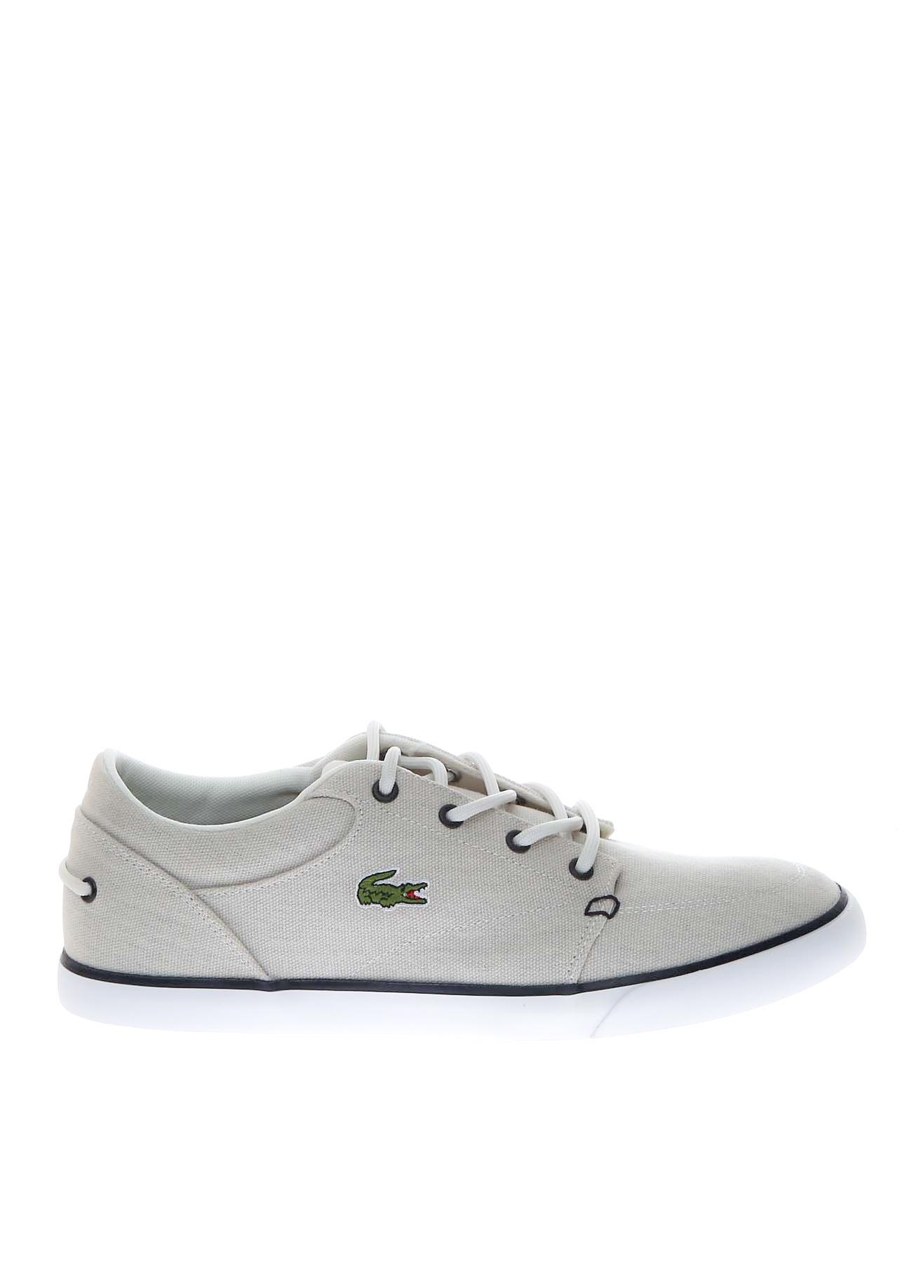 Lacoste Erkek Kanvas Mavi - Beyaz Günlük Ayakkabı 44 5000202845006 Ürün Resmi