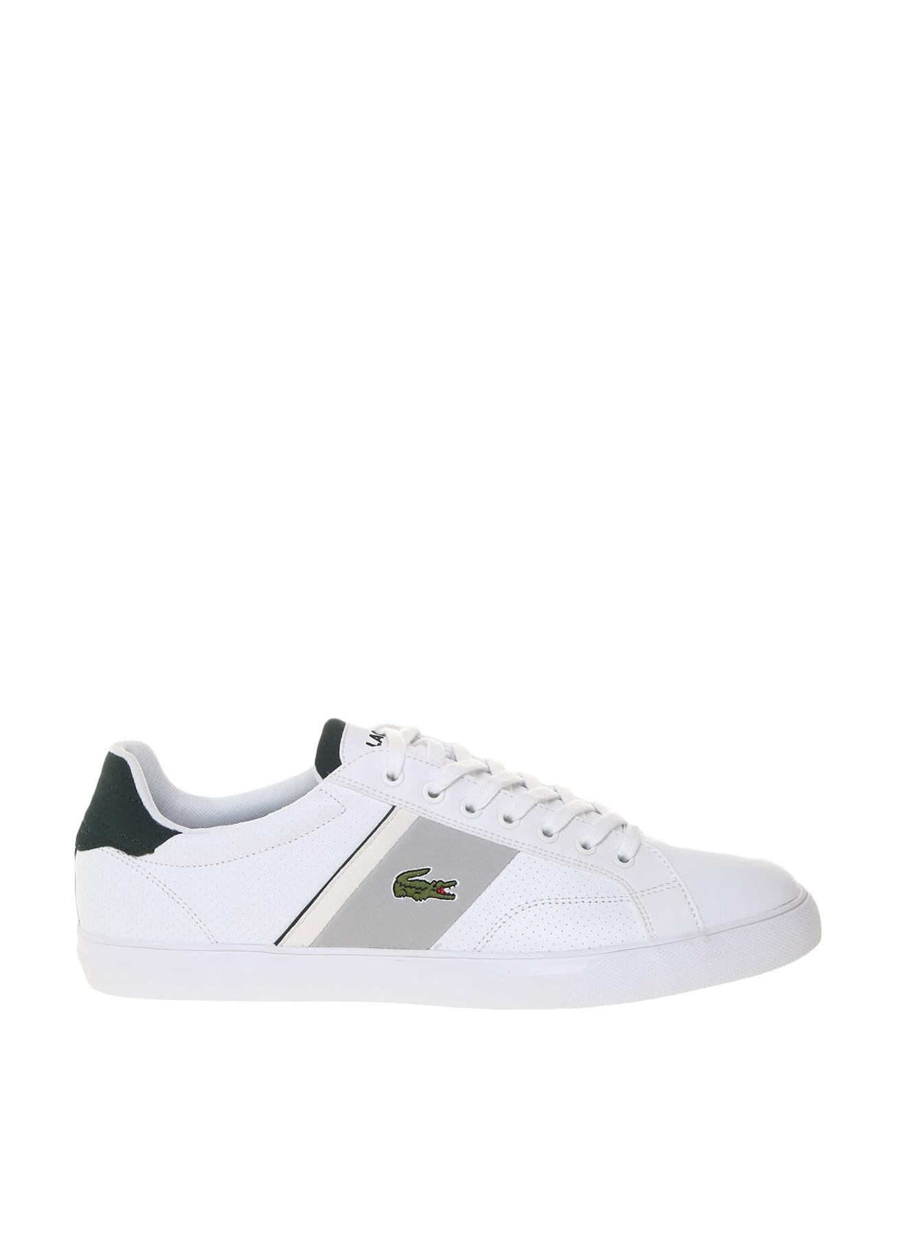 Lacoste Erkek Deri Beyaz Günlük Ayakkabı 41 5000203178003 Ürün Resmi