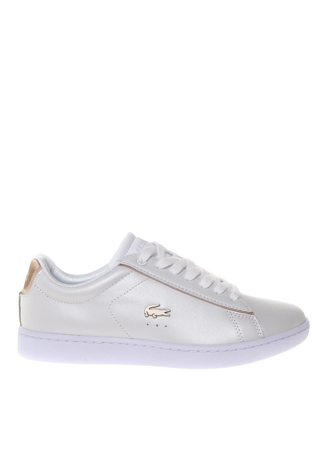 Lacoste Kadın Deri Beyaz Düz Ayakkabı 37 5000203250002 Ürün Resmi