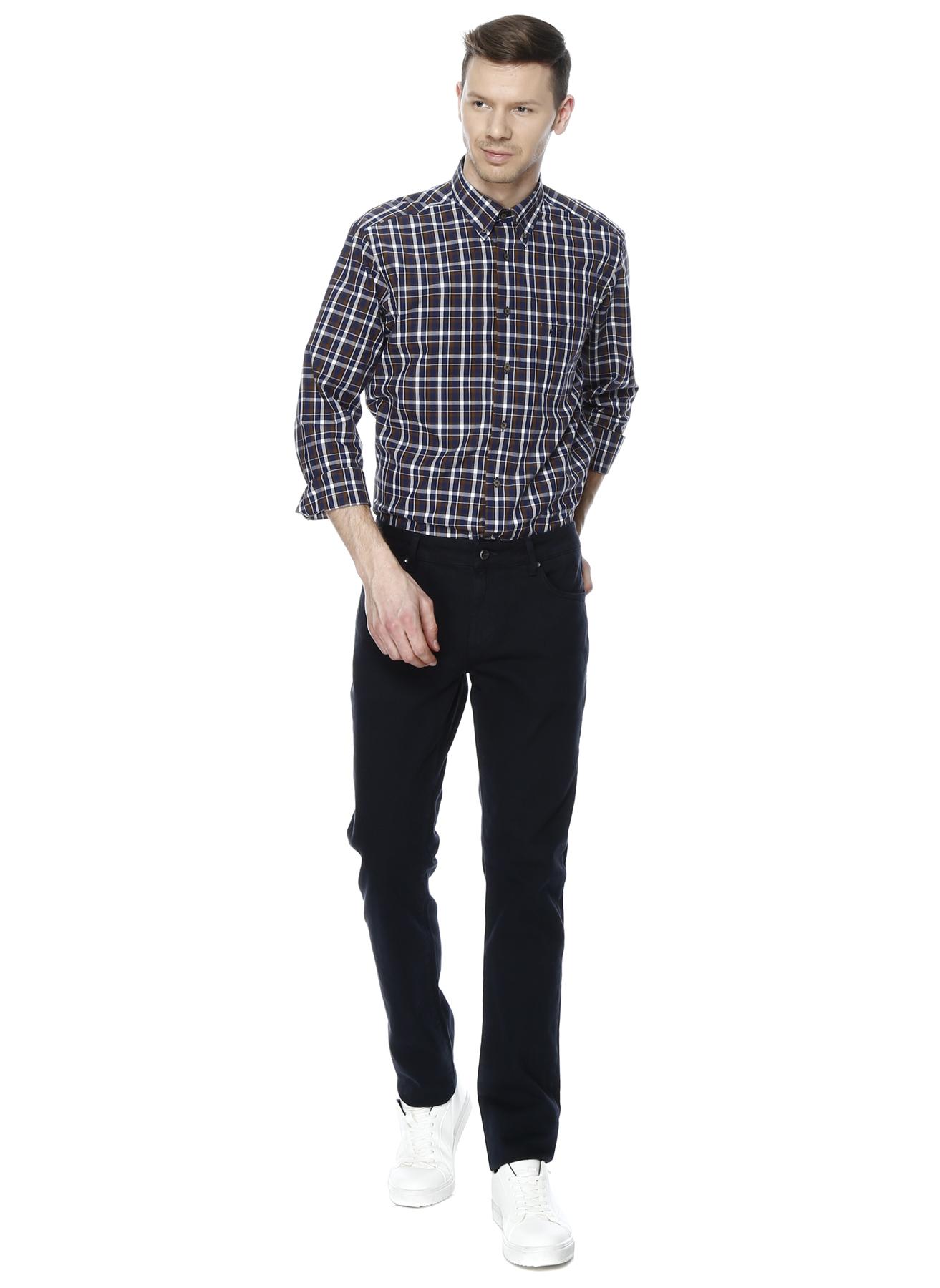 George Hogg Lacivert Boru Paça Casual Klasik Pantolon 36-34 5000204013002 Ürün Resmi