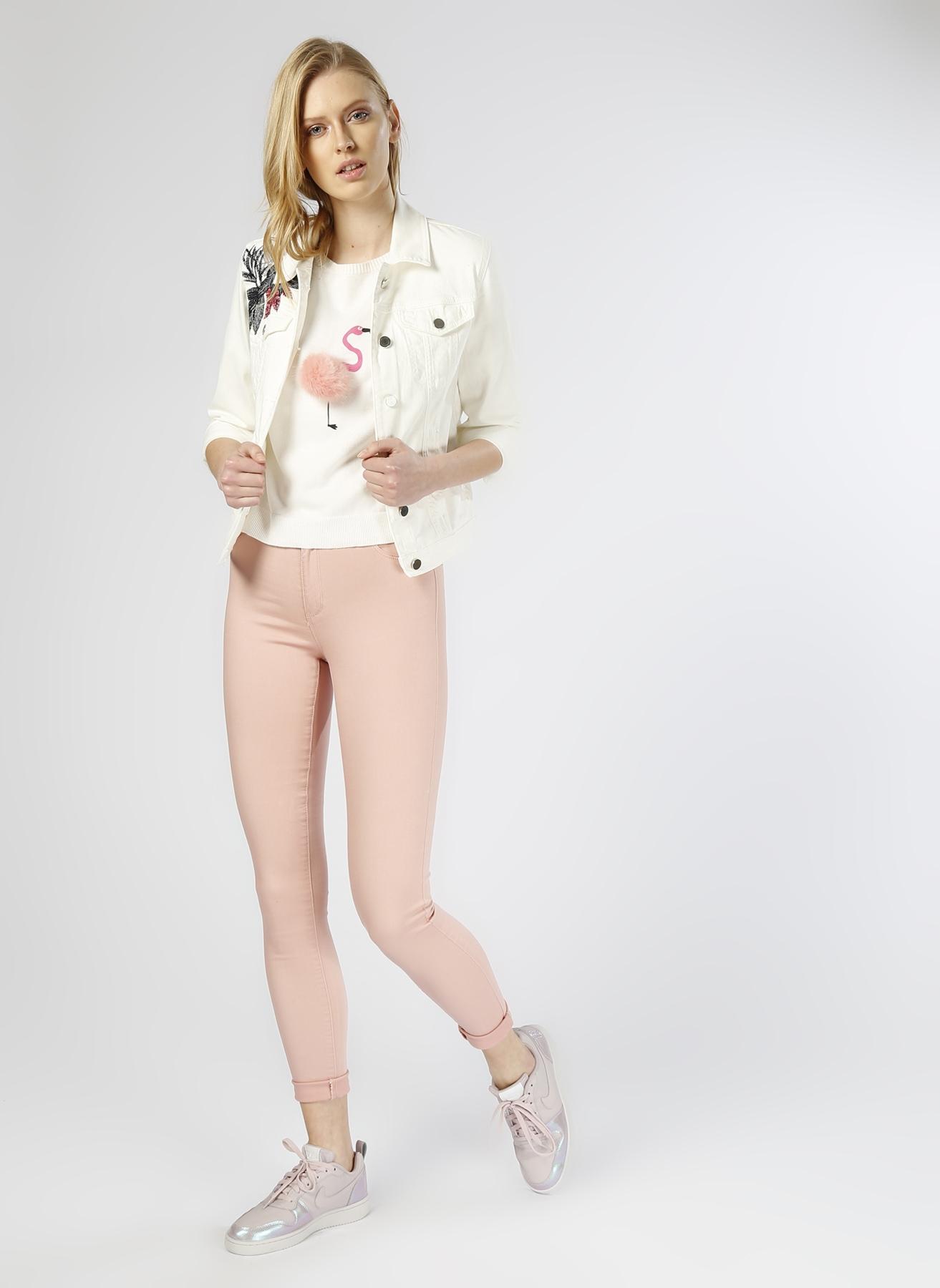 Only Skinny Pembe Pantolon M 5000206300002 Ürün Resmi