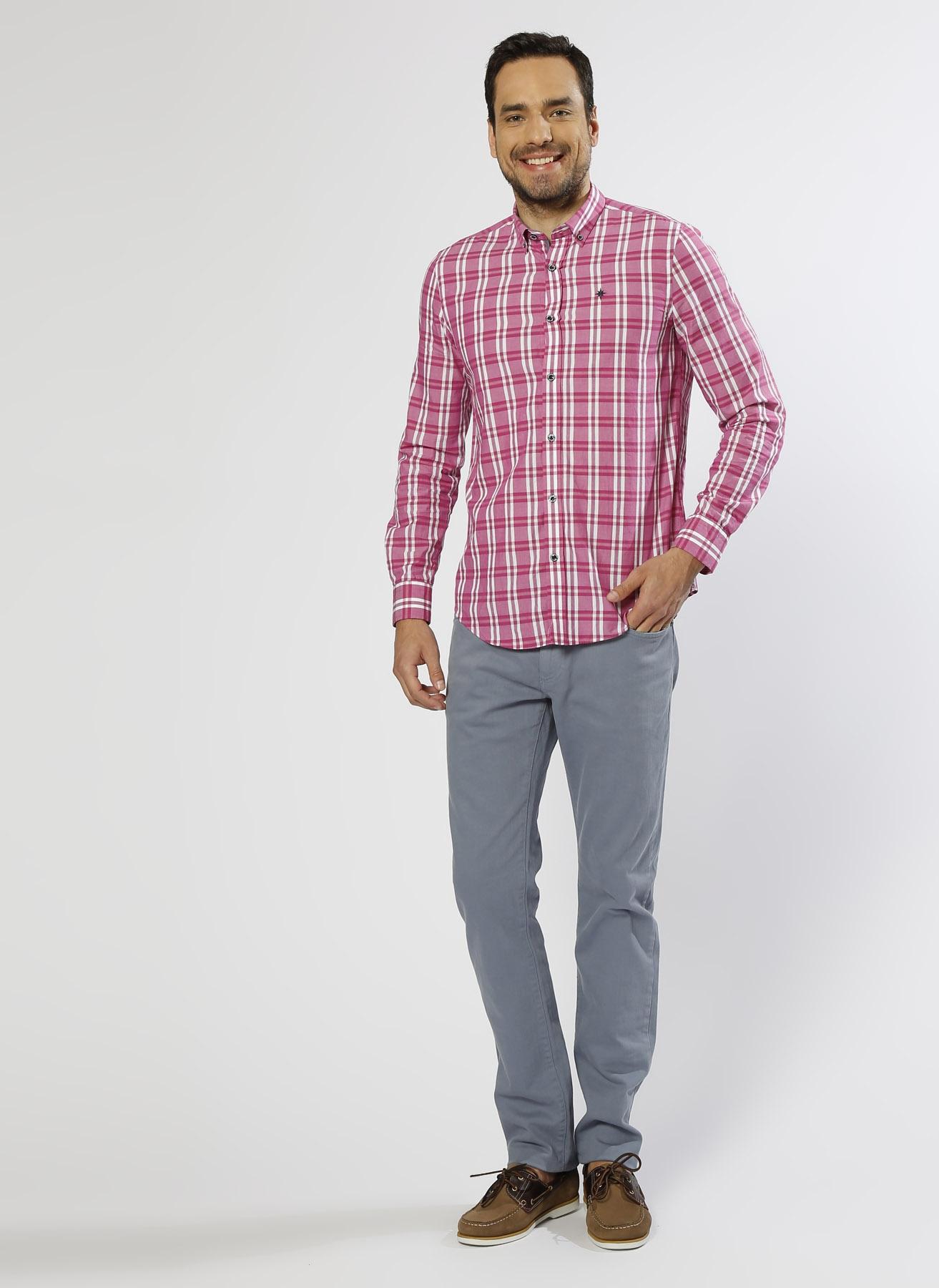 George Hogg Casual Mavi Klasik Pantolon 34-34 5000208638005 Ürün Resmi