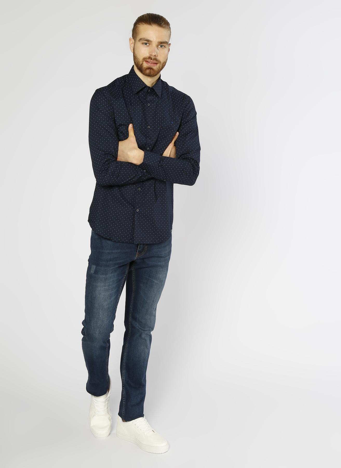 George Hogg Lacivert Denim Pantolon 33-34 5000211231003 Ürün Resmi