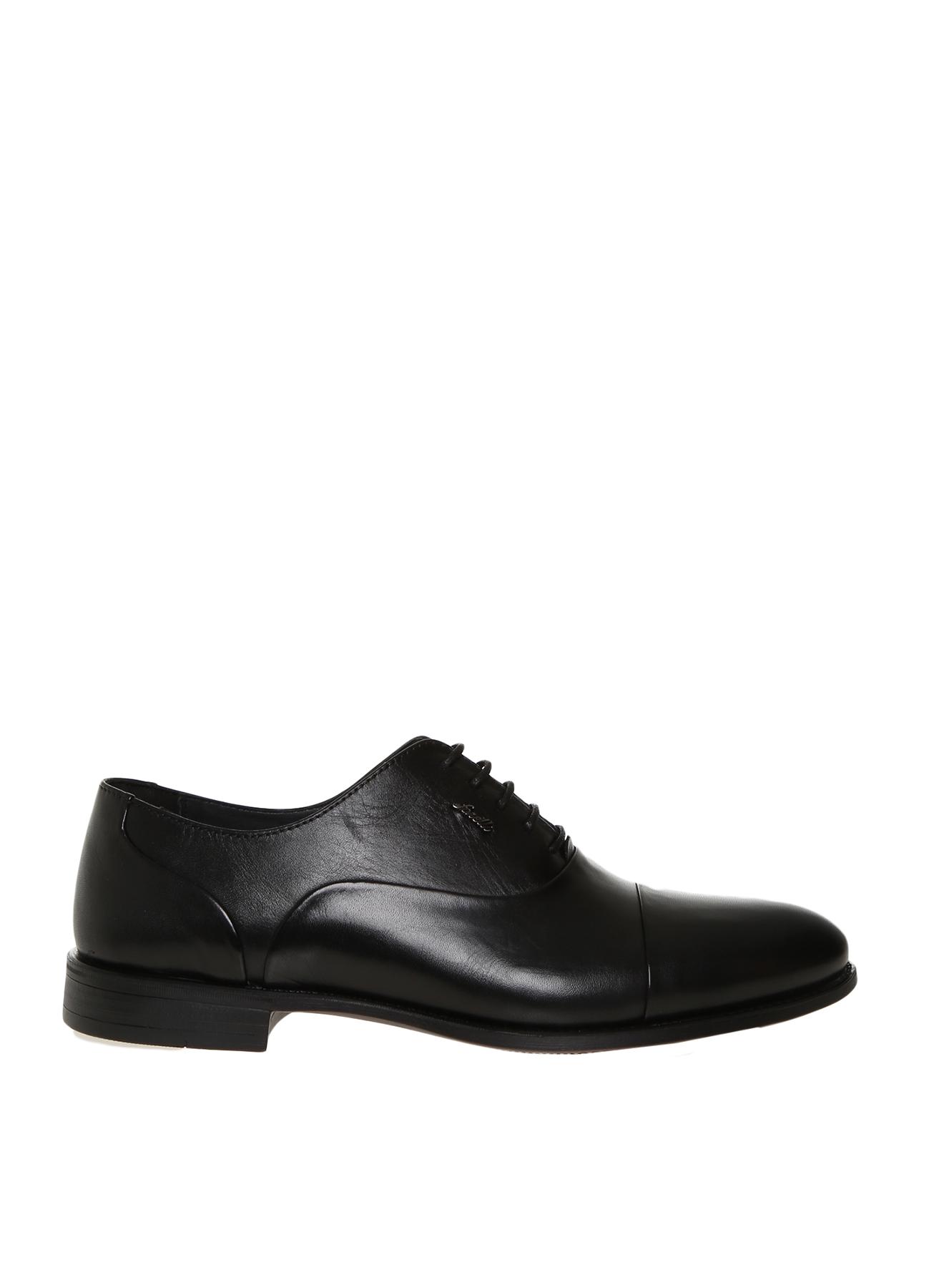 Forelli Erkek Deri Siyah Klasik Ayakkabı 42 5000217296003 Ürün Resmi