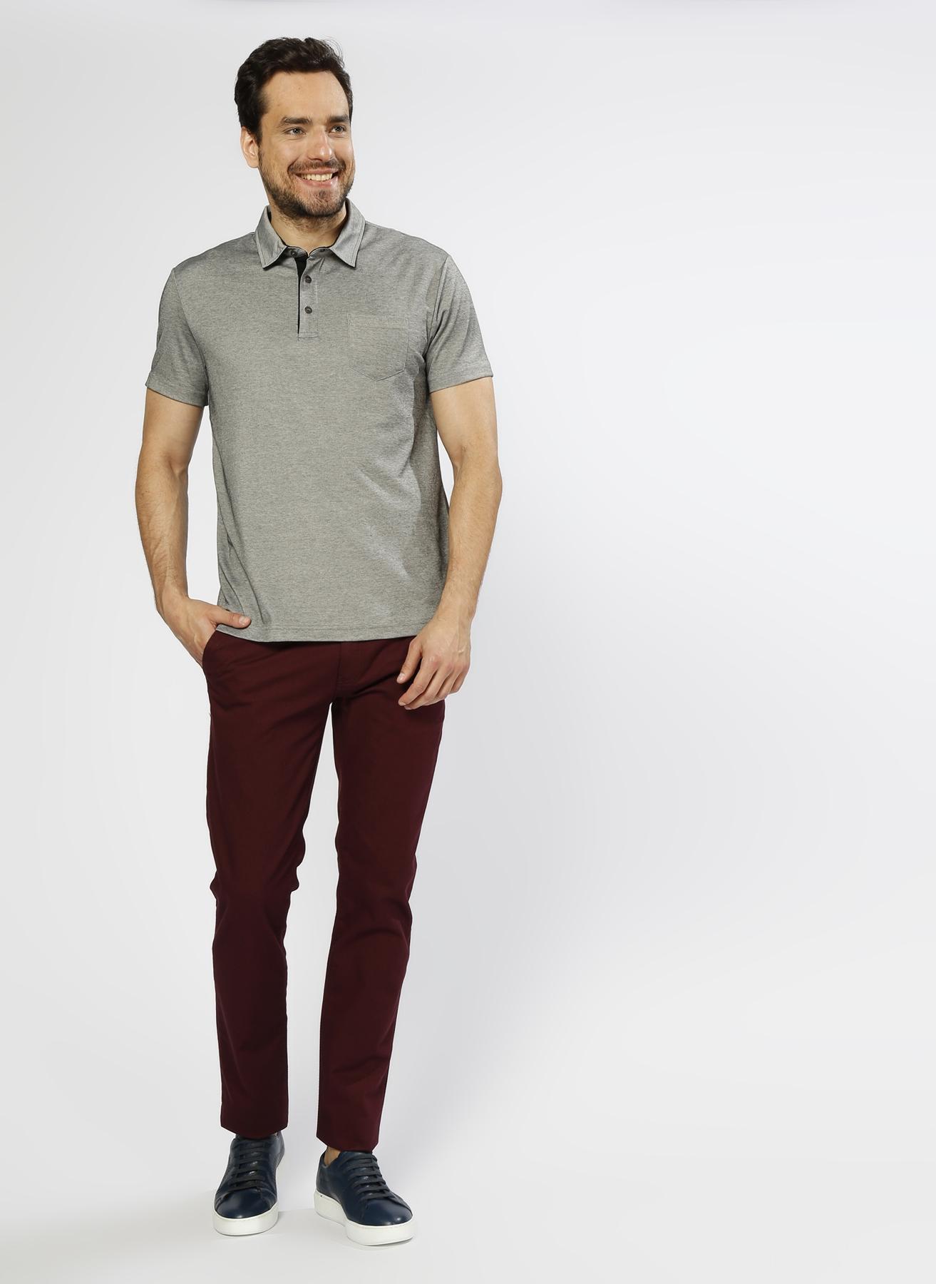 George Hogg Casual Bordo Klasik Pantolon 50 5000217649002 Ürün Resmi